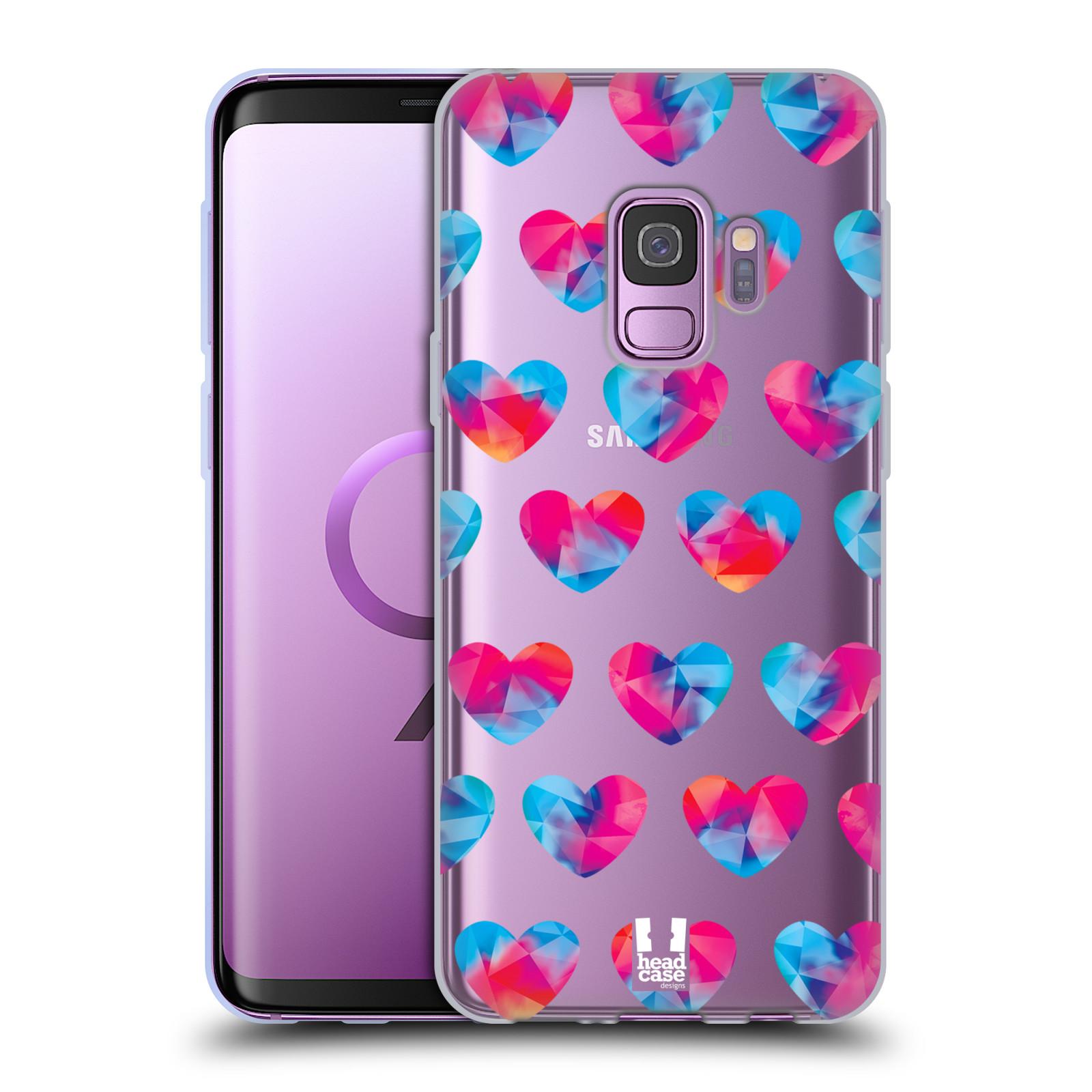 Silikonové pouzdro na mobil Samsung Galaxy S9 - Head Case - Srdíčka hrající barvami