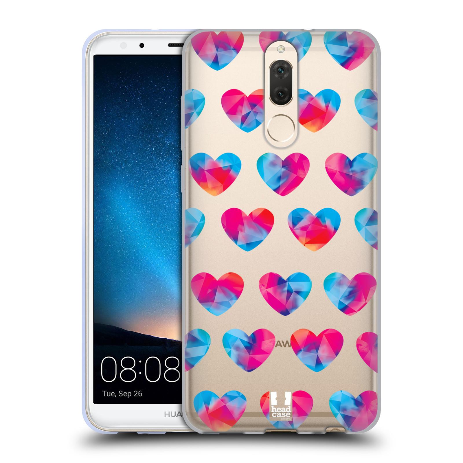 Silikonové pouzdro na mobil Huawei Mate 10 Lite - Head Case - Srdíčka hrající barvami