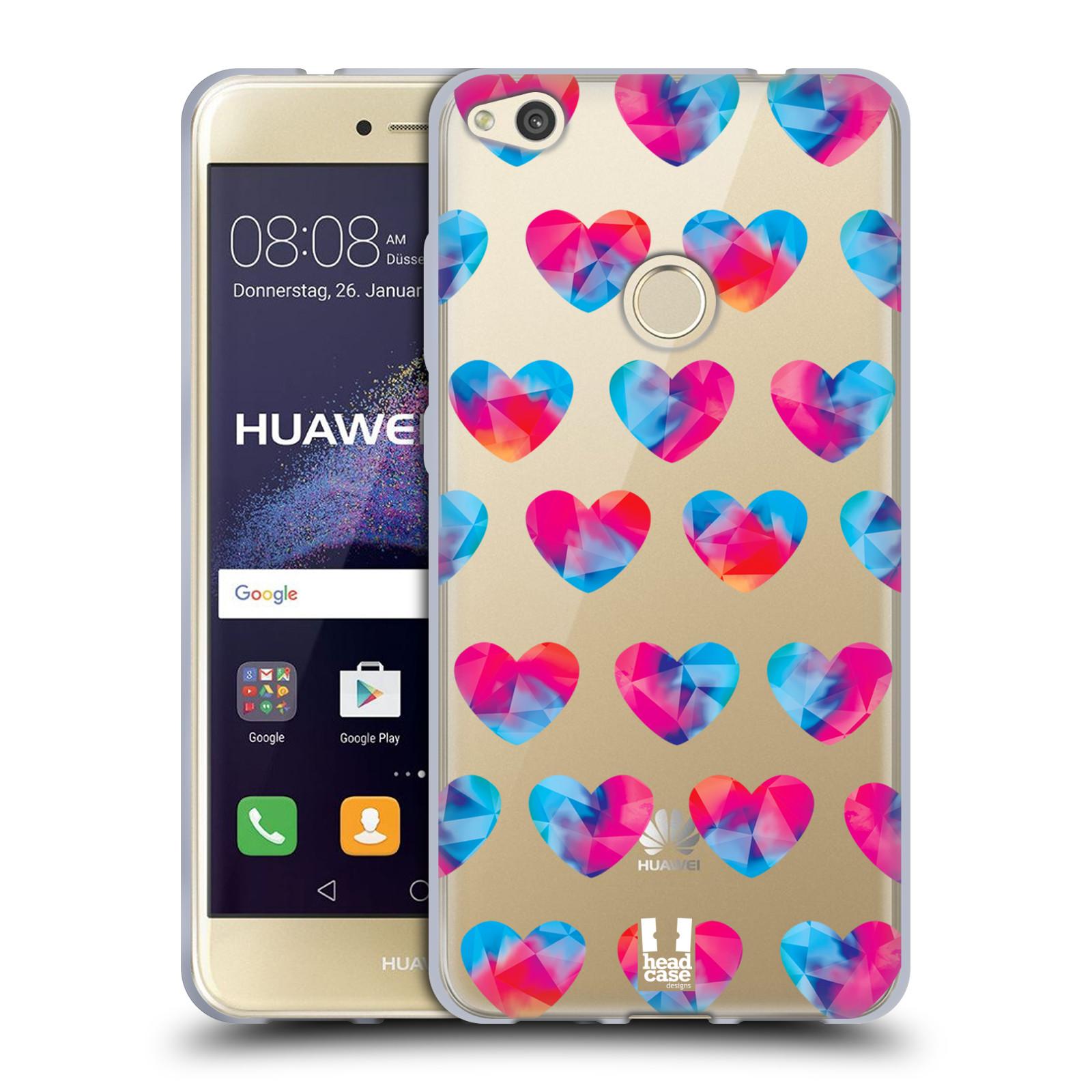 Silikonové pouzdro na mobil Huawei P9 Lite (2017) - Head Case - Srdíčka hrající barvami
