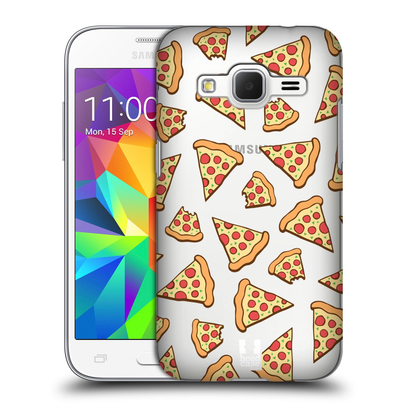 Plastové pouzdro na mobil Samsung Galaxy Core Prime LTE - Head Case - Pizza (Plastový kryt či obal na mobilní telefon s motivem Pizza pro Samsung Galaxy Core Prime LTE SM-G360)