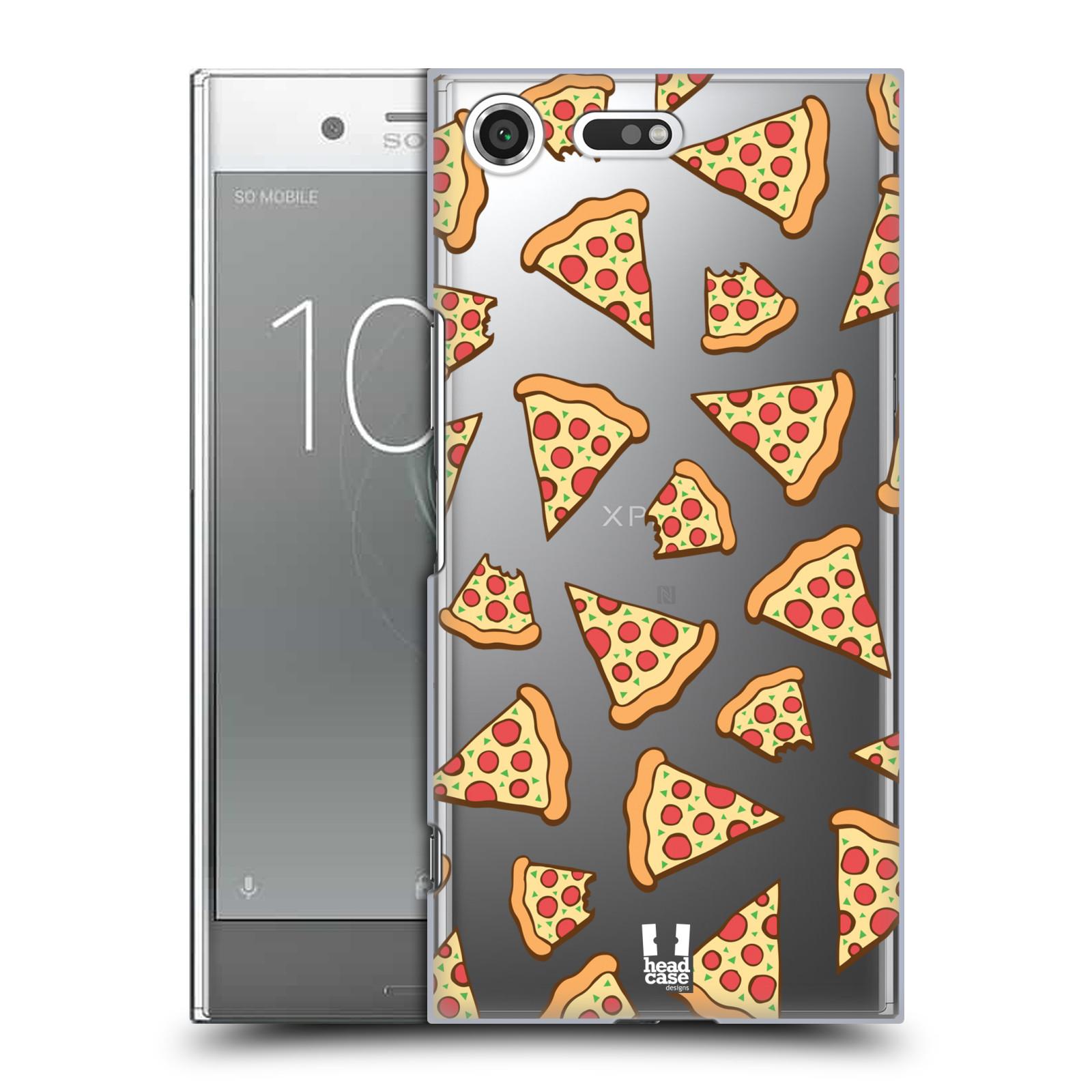 Plastové pouzdro na mobil Sony Xperia XZ Premium Head Case - Pizza
