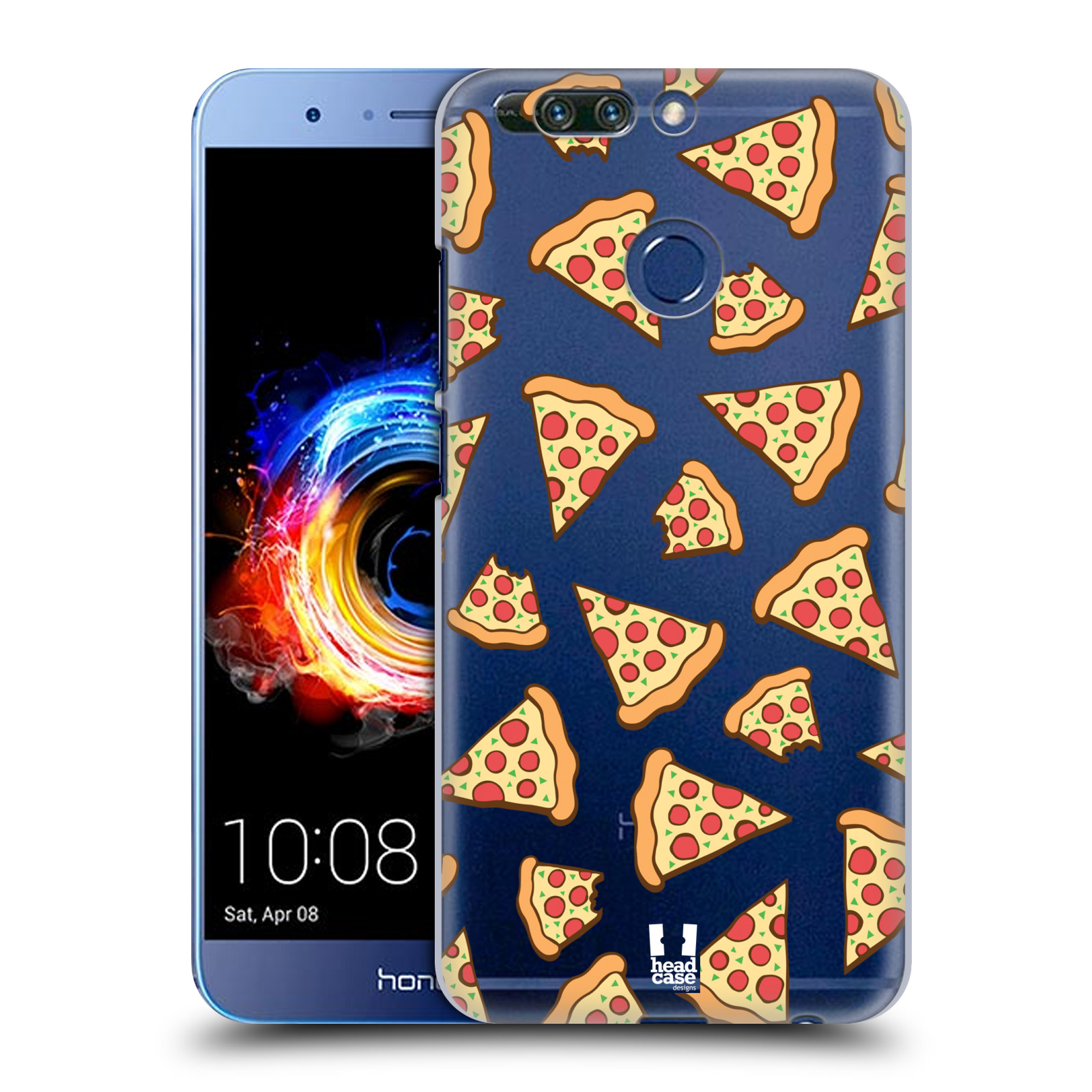 Plastové pouzdro na mobil Honor 8 Pro - Head Case - Pizza