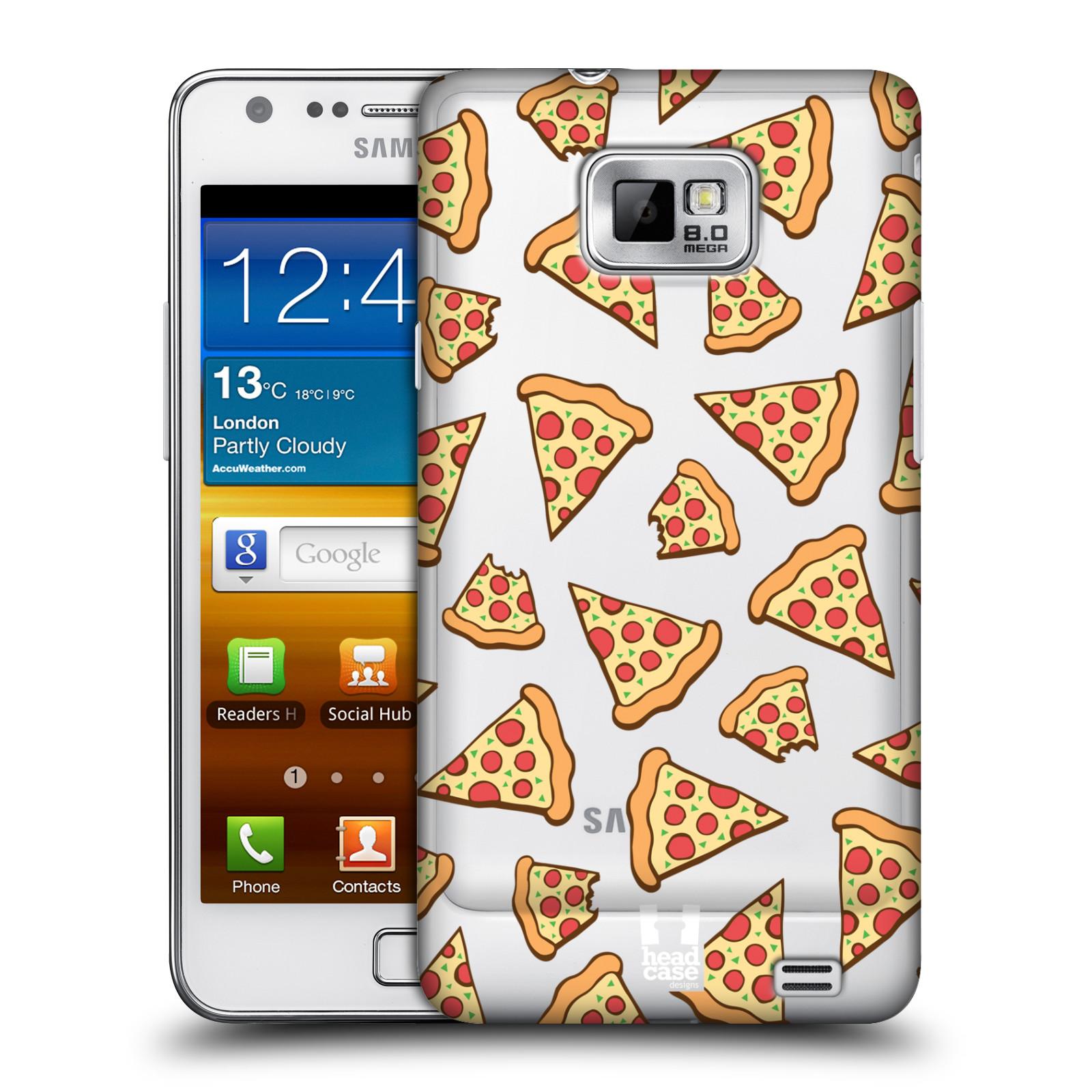 Plastové pouzdro na mobil Samsung Galaxy S II - Head Case - Pizza