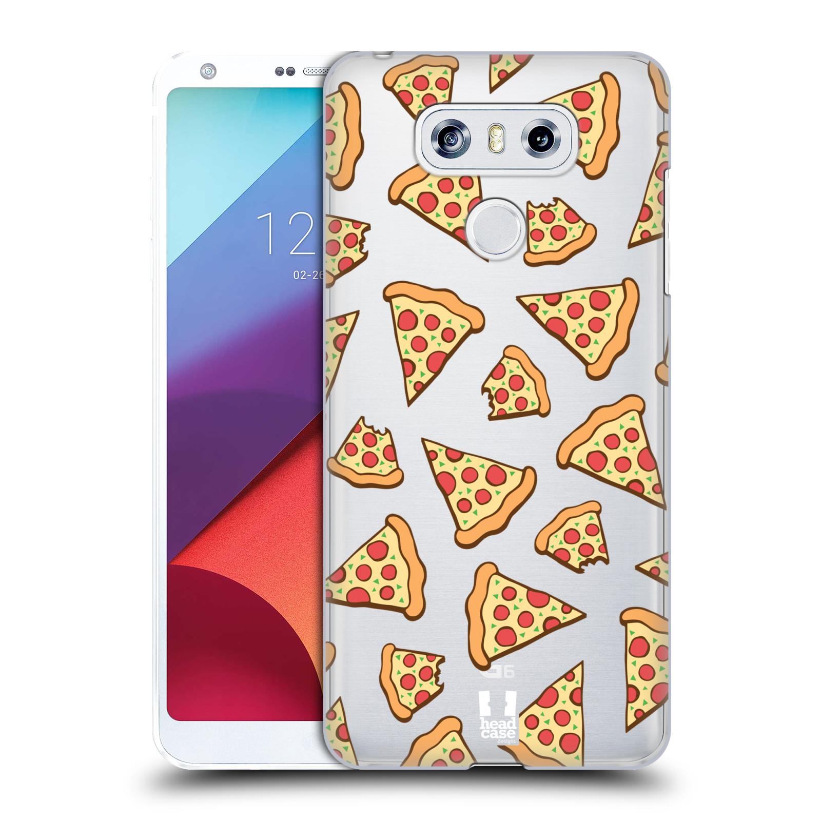 Plastové pouzdro na mobil LG G6 - Head Case - Pizza (Plastový kryt či obal na mobilní telefon s motivem Pizza pro LG G6 H870 / LG G6 Dual SIM H870DS)