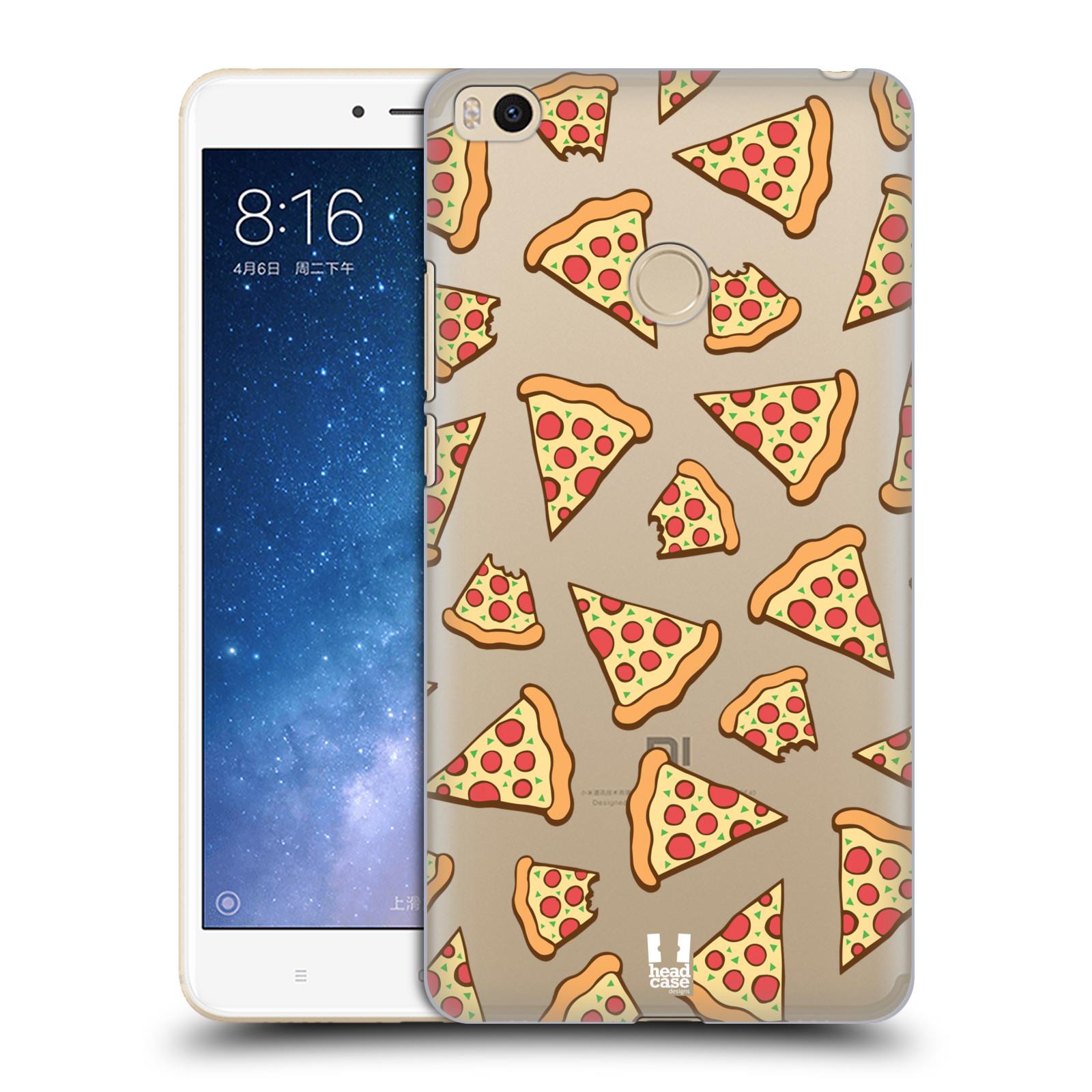 Plastové pouzdro na mobil Xiaomi Mi Max 2 - Head Case - Pizza