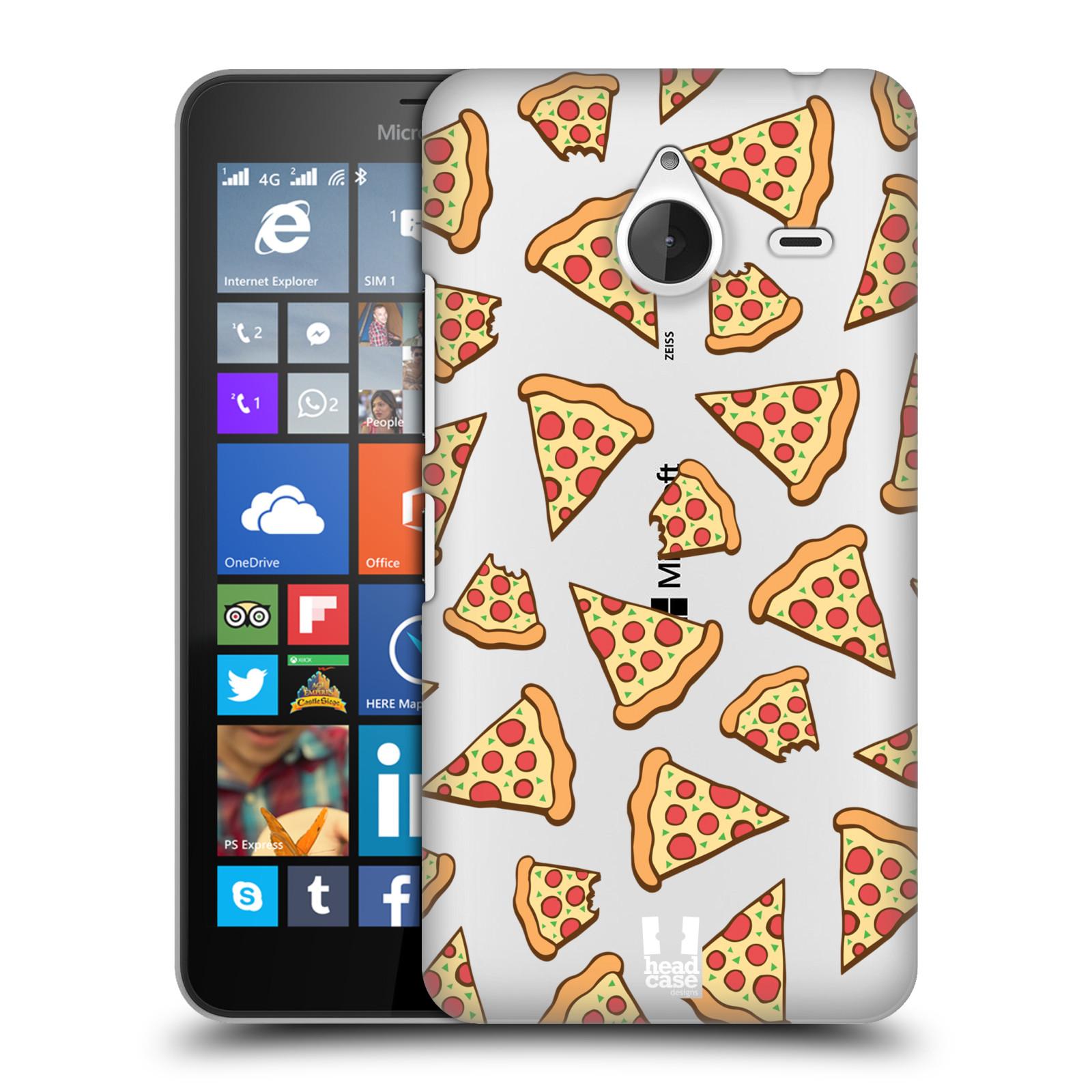 Plastové pouzdro na mobil Microsoft Lumia 640 XL - Head Case - Pizza