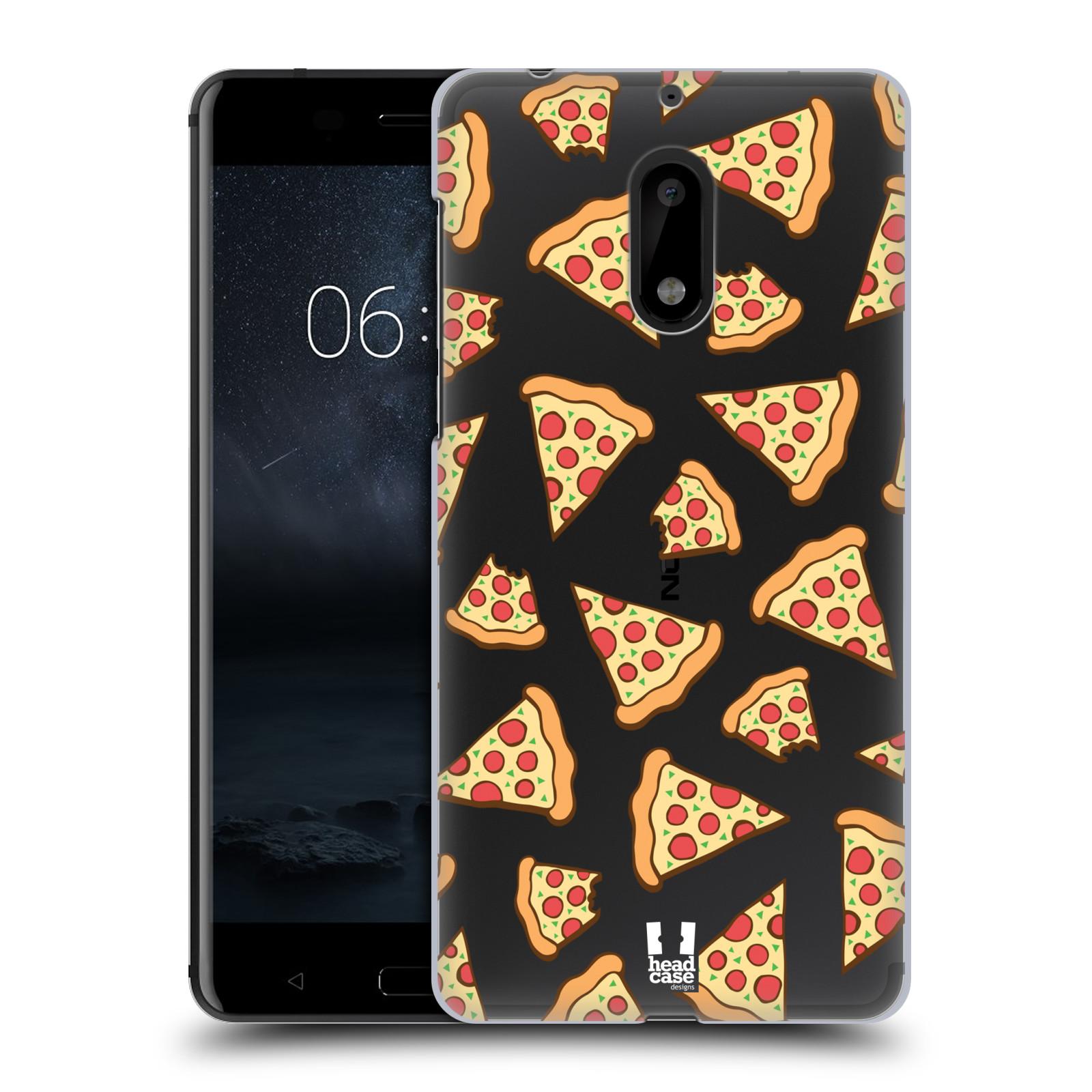Plastové pouzdro na mobil Nokia 6 - Head Case - Pizza (Plastový kryt či obal na mobilní telefon s motivem Pizza pro Nokia 6 (Dual SIM))