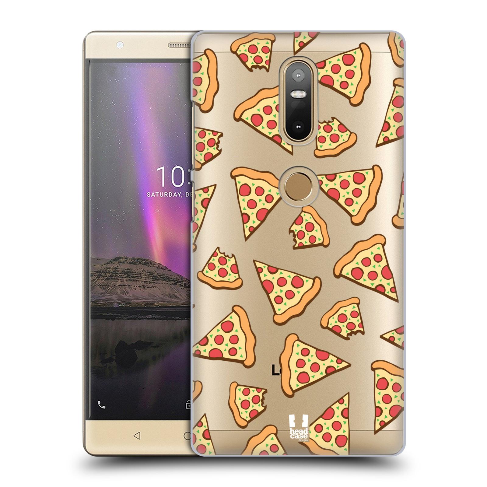 Plastové pouzdro na mobil Lenovo Phab 2 Plus - Head Case - Pizza (Plastový kryt či obal na mobilní telefon Lenovo Phab 2 Plus Dual SIM s motivem Pizza)