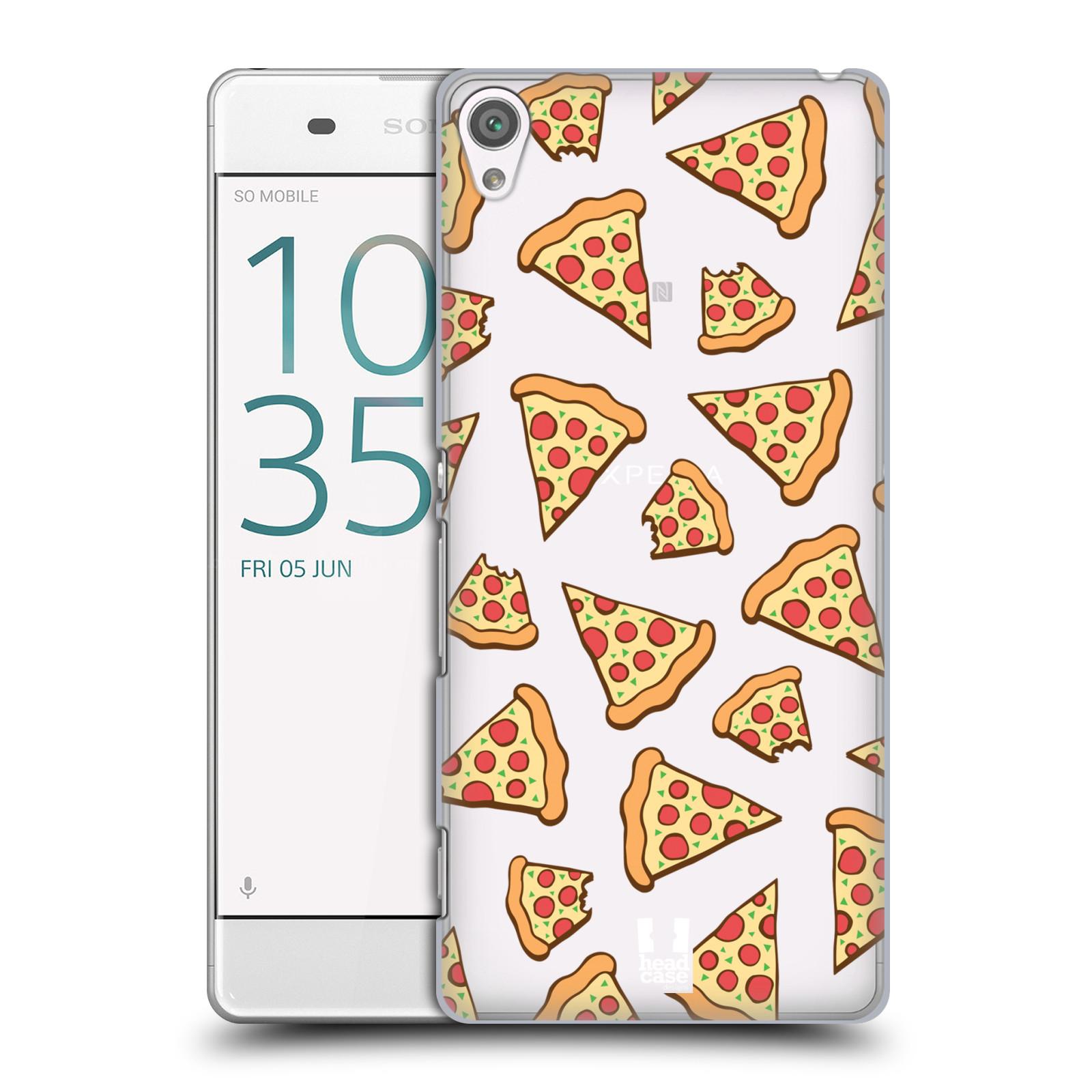 Plastové pouzdro na mobil Sony Xperia XA - Head Case - Pizza (Plastový kryt či obal na mobilní telefon s motivem Pizza pro Sony Xperia XA F3111 / Dual F3112)