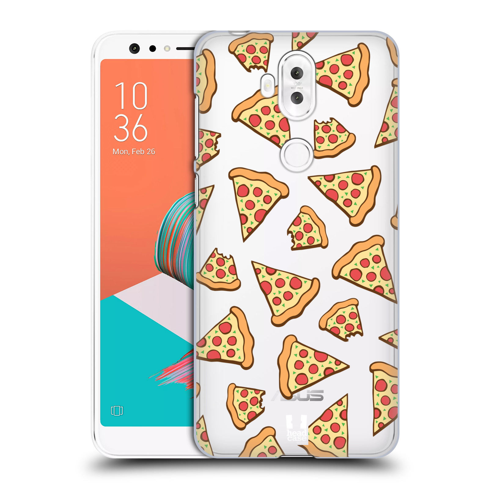 Plastové pouzdro na mobil Asus ZenFone 5 Lite ZC600KL - Head Case - Pizza (Plastový kryt či obal na mobilní telefon Asus ZenFone 5 Lite (ZC600KL) s motivem Pizza)