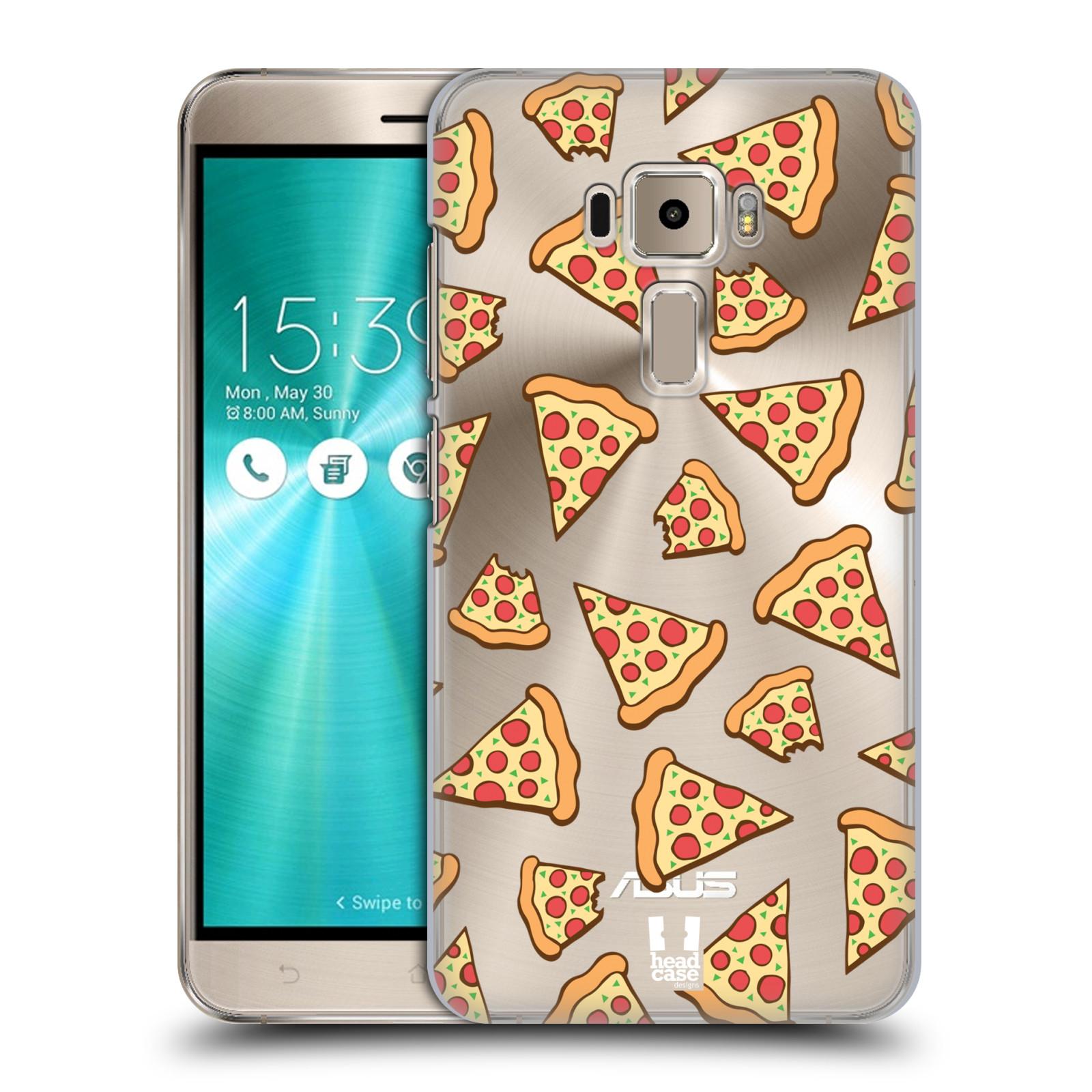 Plastové pouzdro na mobil Asus ZenFone 3 ZE520KL - Head Case - Pizza (Plastový kryt či obal na mobilní telefon s motivem Pizza pro Asus Zenfone 3 s označením ZE520KL)