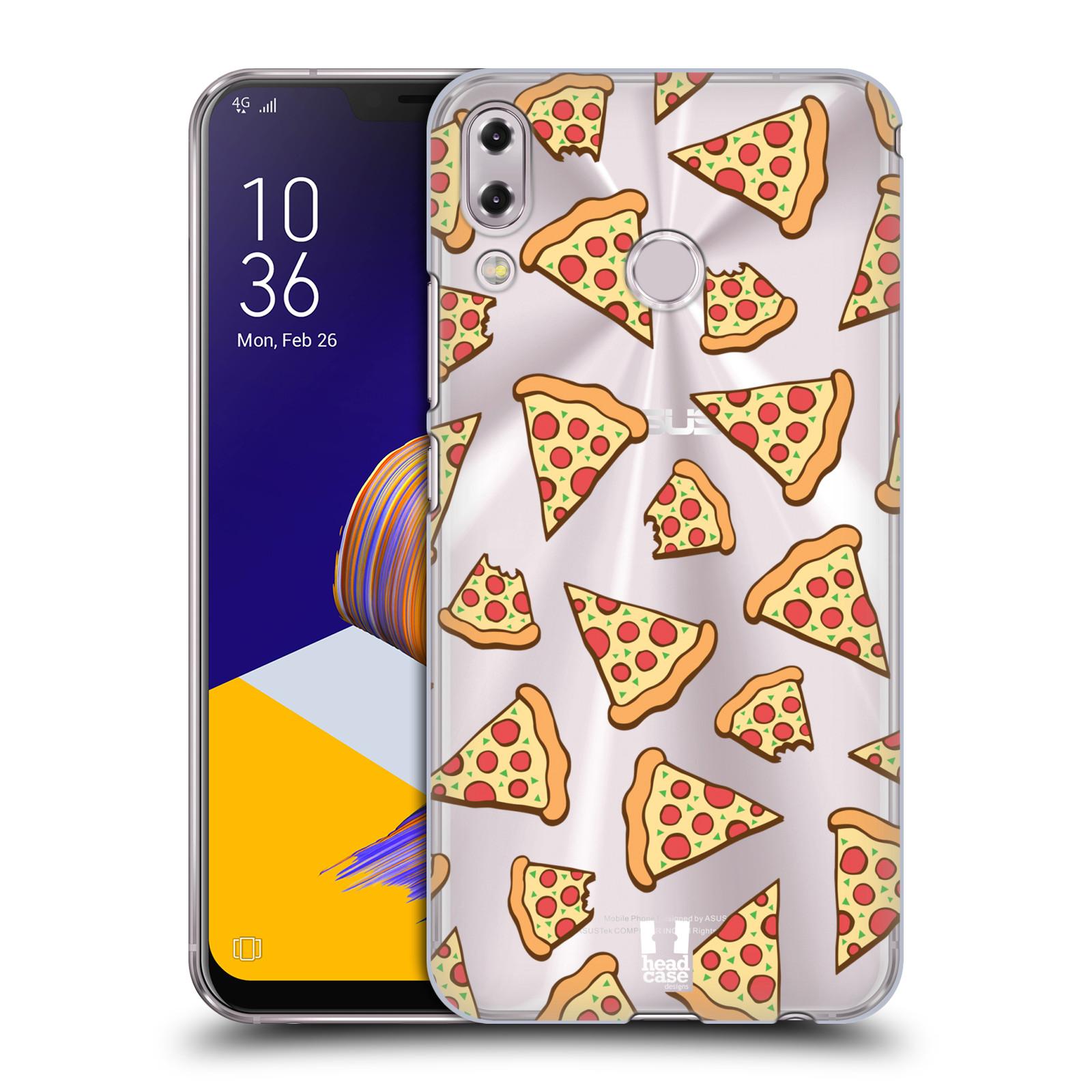 Plastové pouzdro na mobil Asus Zenfone 5z ZS620KL - Head Case - Pizza (Plastový kryt či obal na mobilní telefon Asus Zenfone 5z (ZS620KL) s motivem Pizza)