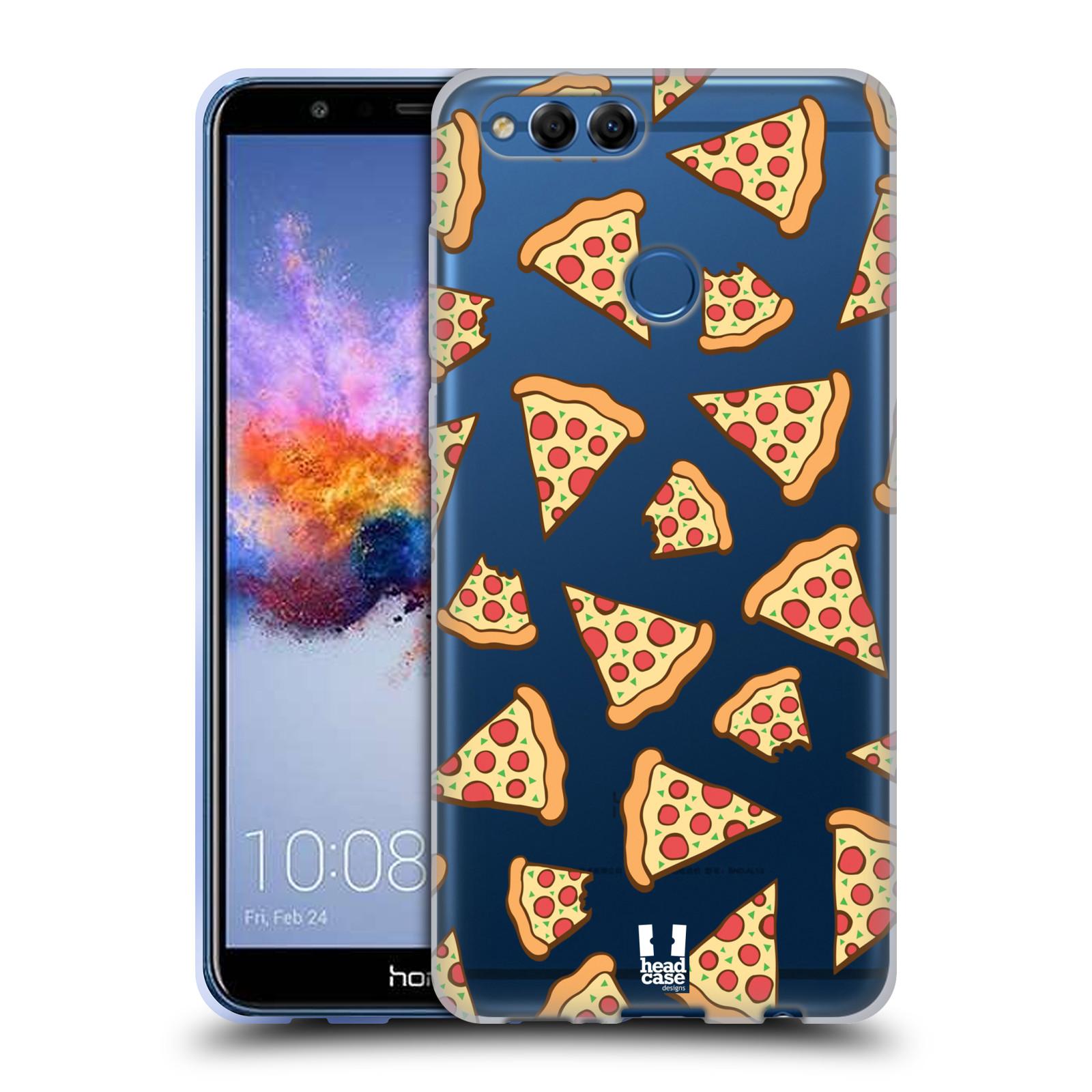 Silikonové pouzdro na mobil Honor 7X - Head Case - Pizza