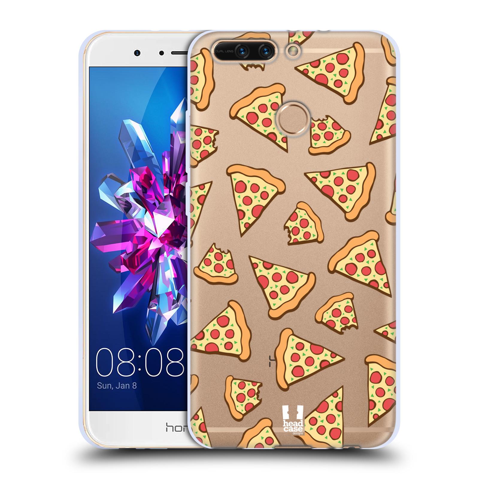 Silikonové pouzdro na mobil Honor 8 Pro - Head Case - Pizza