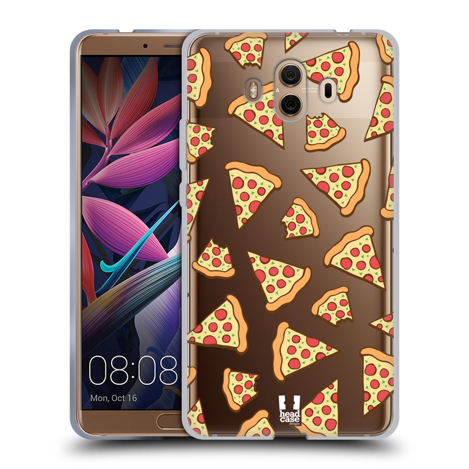 Silikonové pouzdro na mobil Huawei Mate 10 - Head Case - Pizza