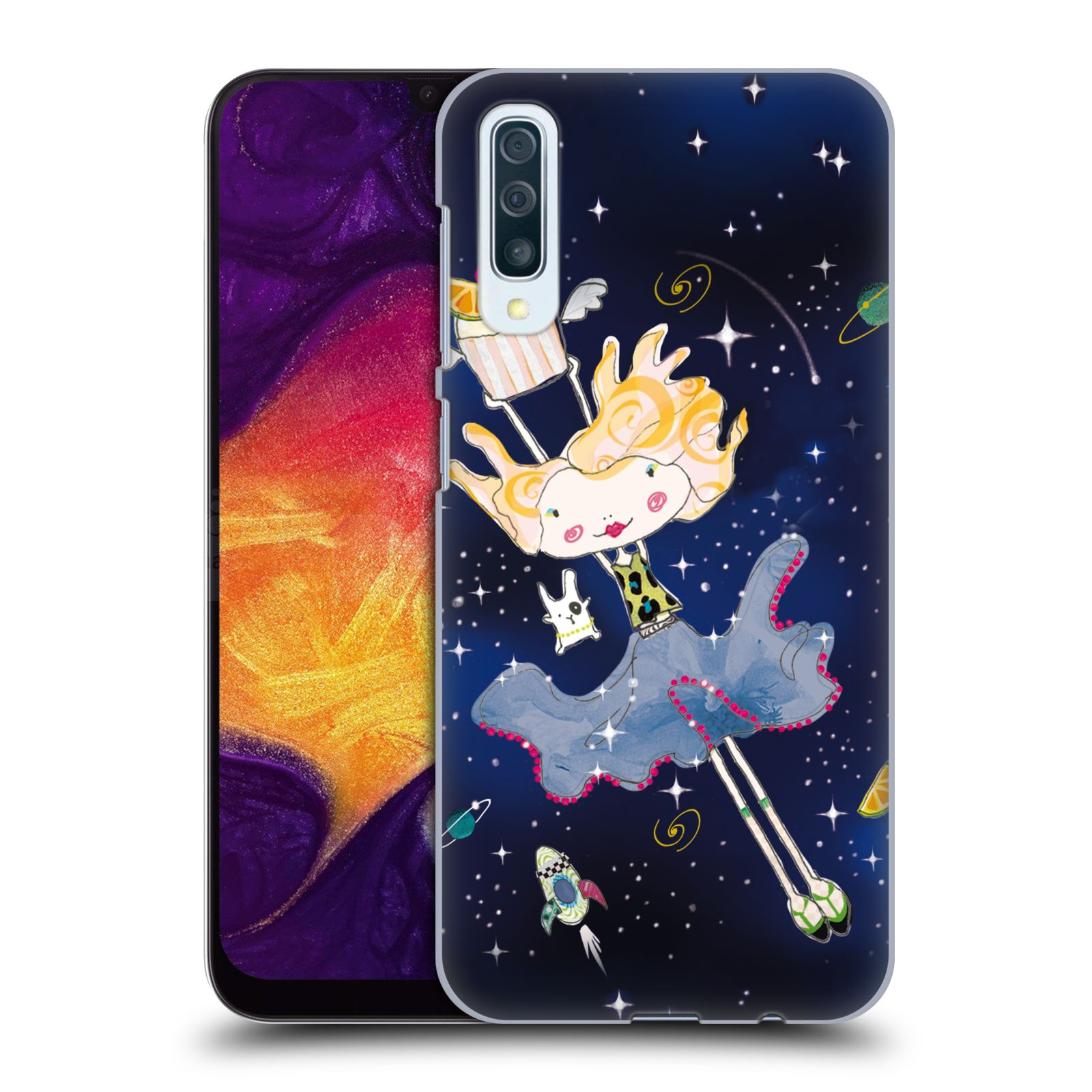 Official Turnowsky Tangerine Zebra Dream Dance Case for Samsung Galaxy A50/A30s (2019)