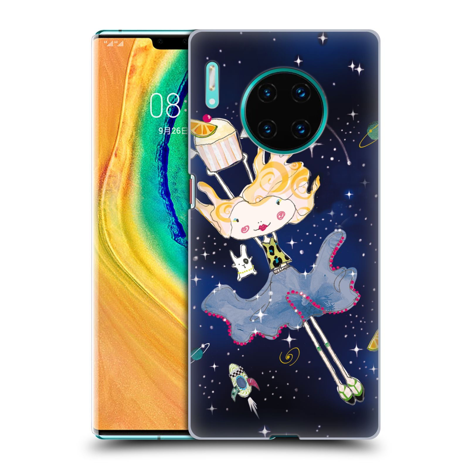 Official Turnowsky Tangerine Zebra Dream Dance Case for Huawei Mate 30 Pro / 5G