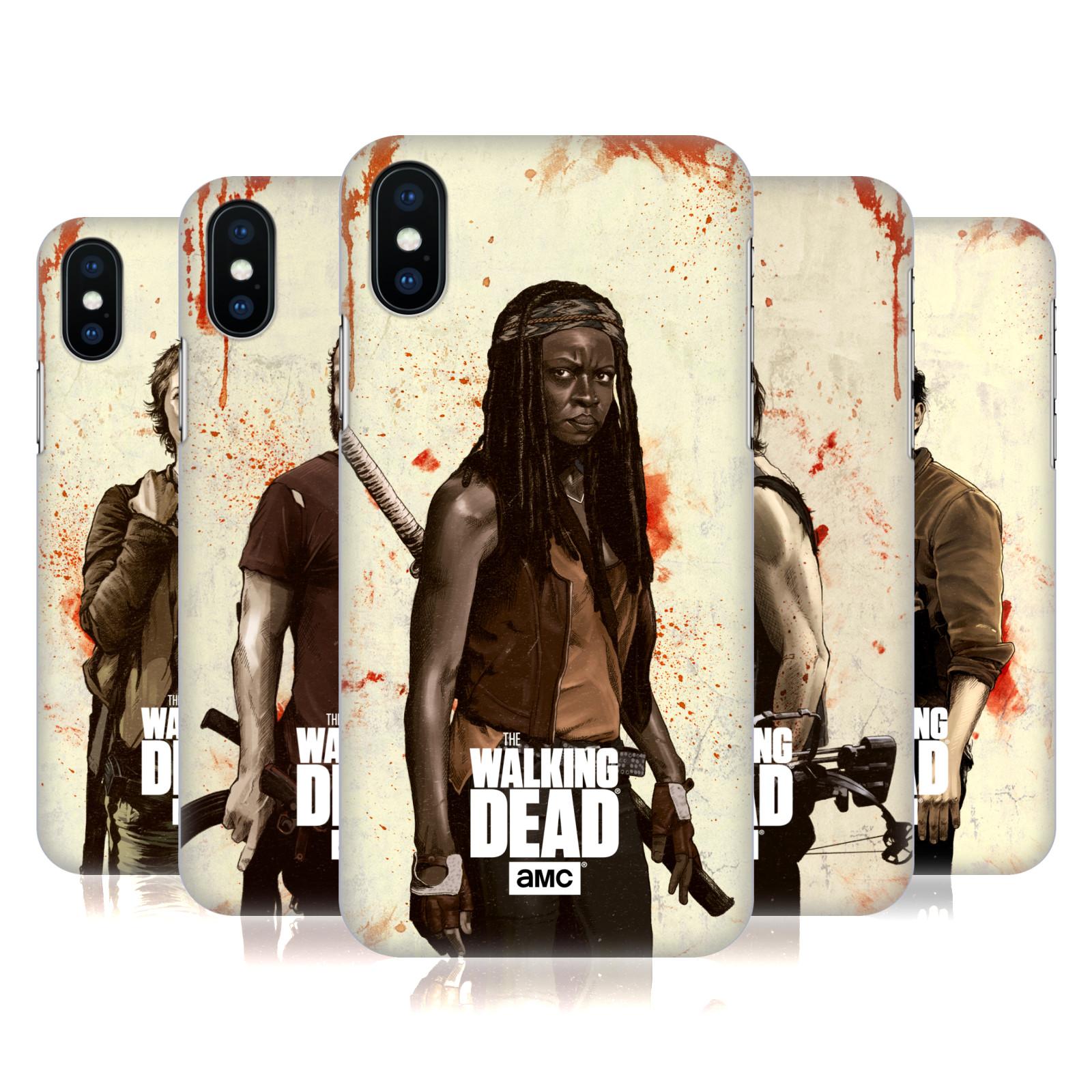 AMC The Walking Dead Distressed Illustrations