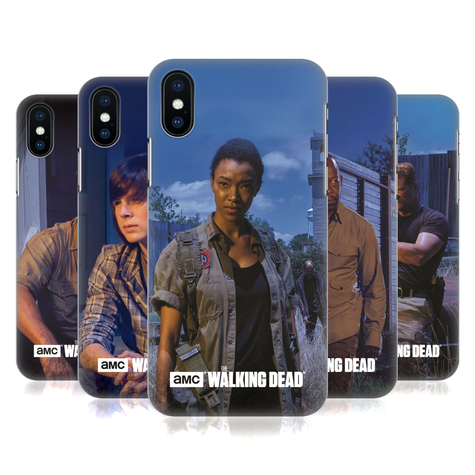Official AMC The Walking Dead Filtered Characters