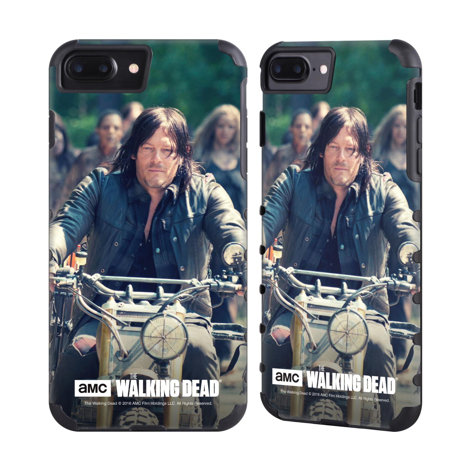 AMC-The-Walking-Dead-Daryl-Dixon-Pinza-Dorado-Estuche-para-telefonos-Apple-iPhone