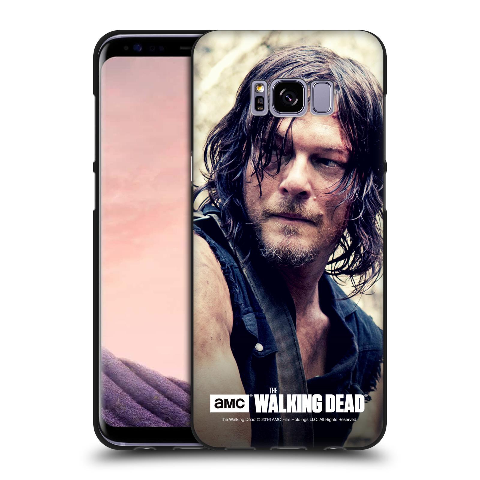 Oficial-AMC-The-Walking-Dead-Daryl-Dixon-Negro-Gel-caso-para-telefonos-Samsung-1