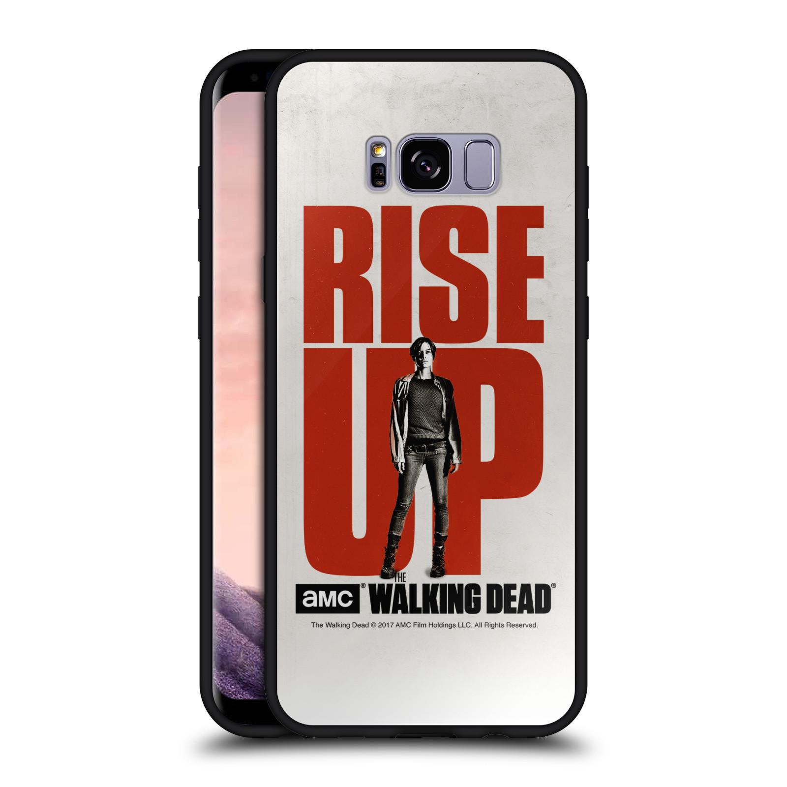 OFFICIAL-AMC-THE-WALKING-DEAD-RISE-UP-BLACK-HYBRID-GLASS-CASE-FOR-SAMSUNG-PHONES