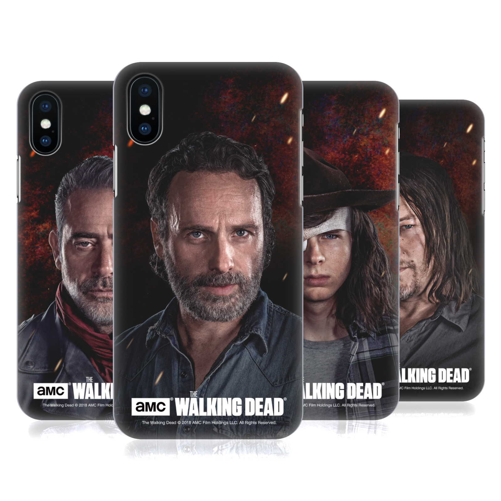Official AMC The Walking Dead Season 8 Portraits