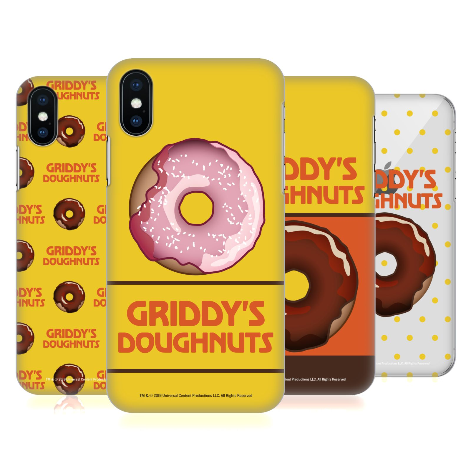 Official The Umbrella Academy Griddy's Doughnuts