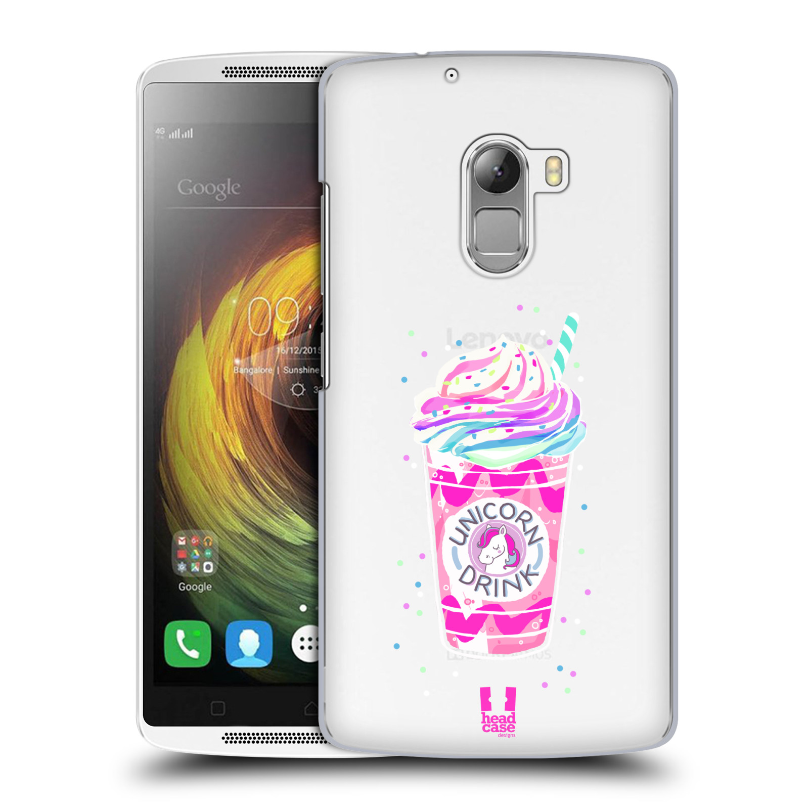 Plastové pouzdro na mobil Lenovo A7010 - Head Case - Unicorn drink