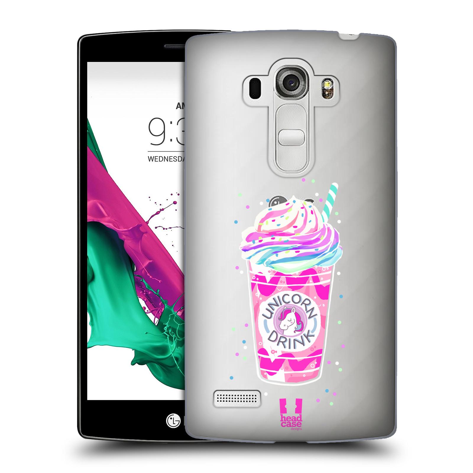 Plastové pouzdro na mobil LG G4s - Head Case - Unicorn drink