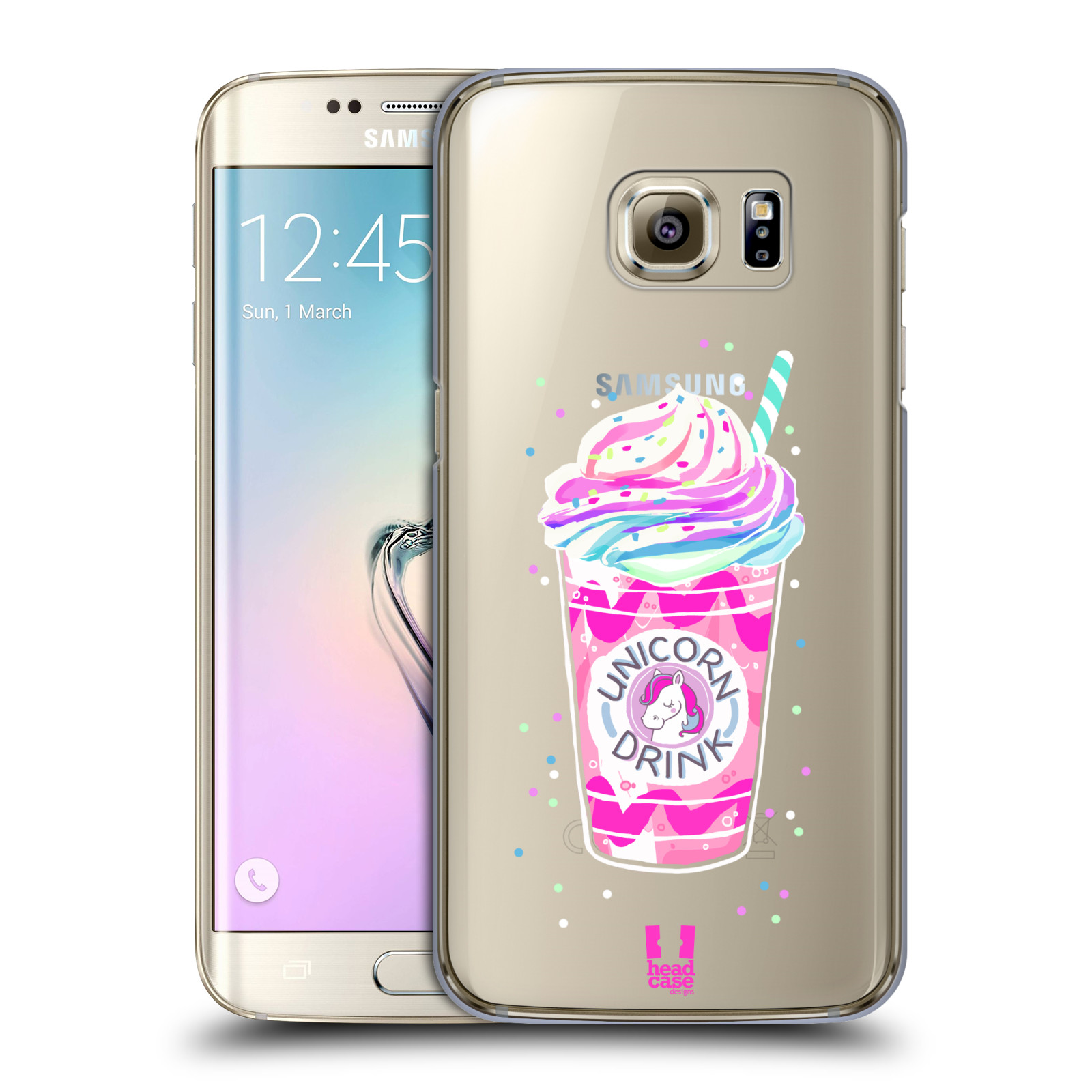 Plastové pouzdro na mobil Samsung Galaxy S7 Edge - Head Case - Unicorn  drink empty 59bb440a3a5