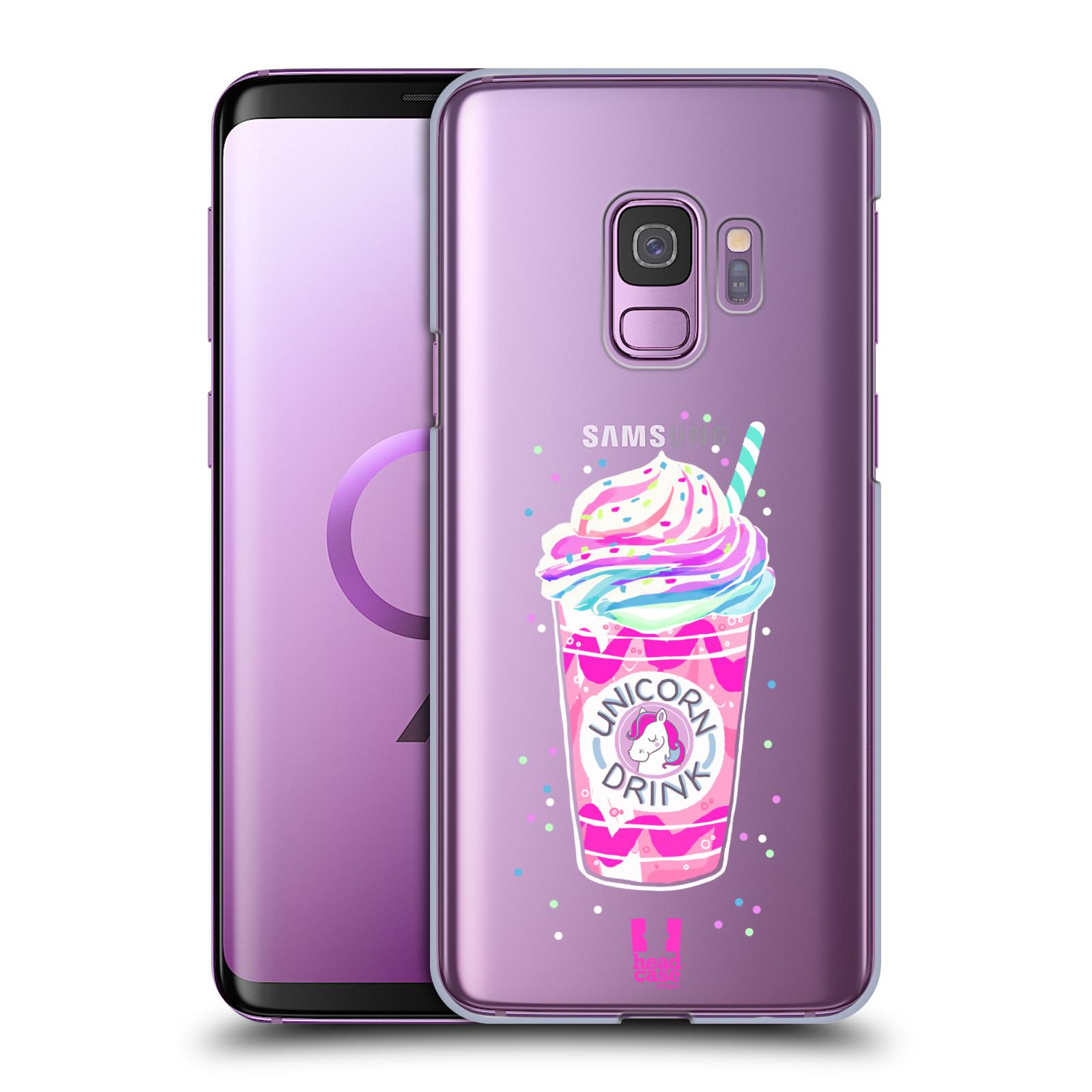Plastové pouzdro na mobil Samsung Galaxy S9 - Head Case - Unicorn drink