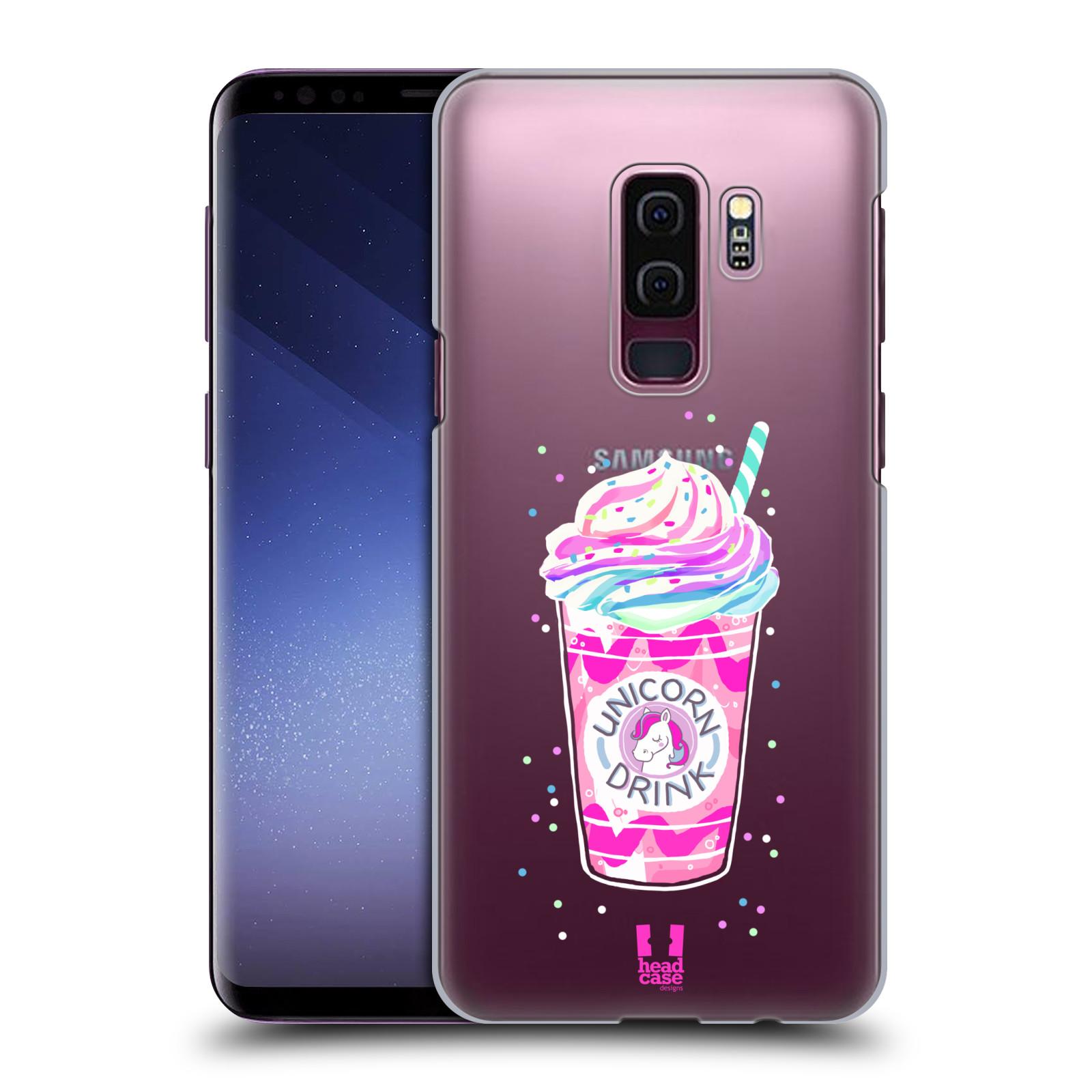 Plastové pouzdro na mobil Samsung Galaxy S9 Plus - Head Case - Unicorn drink
