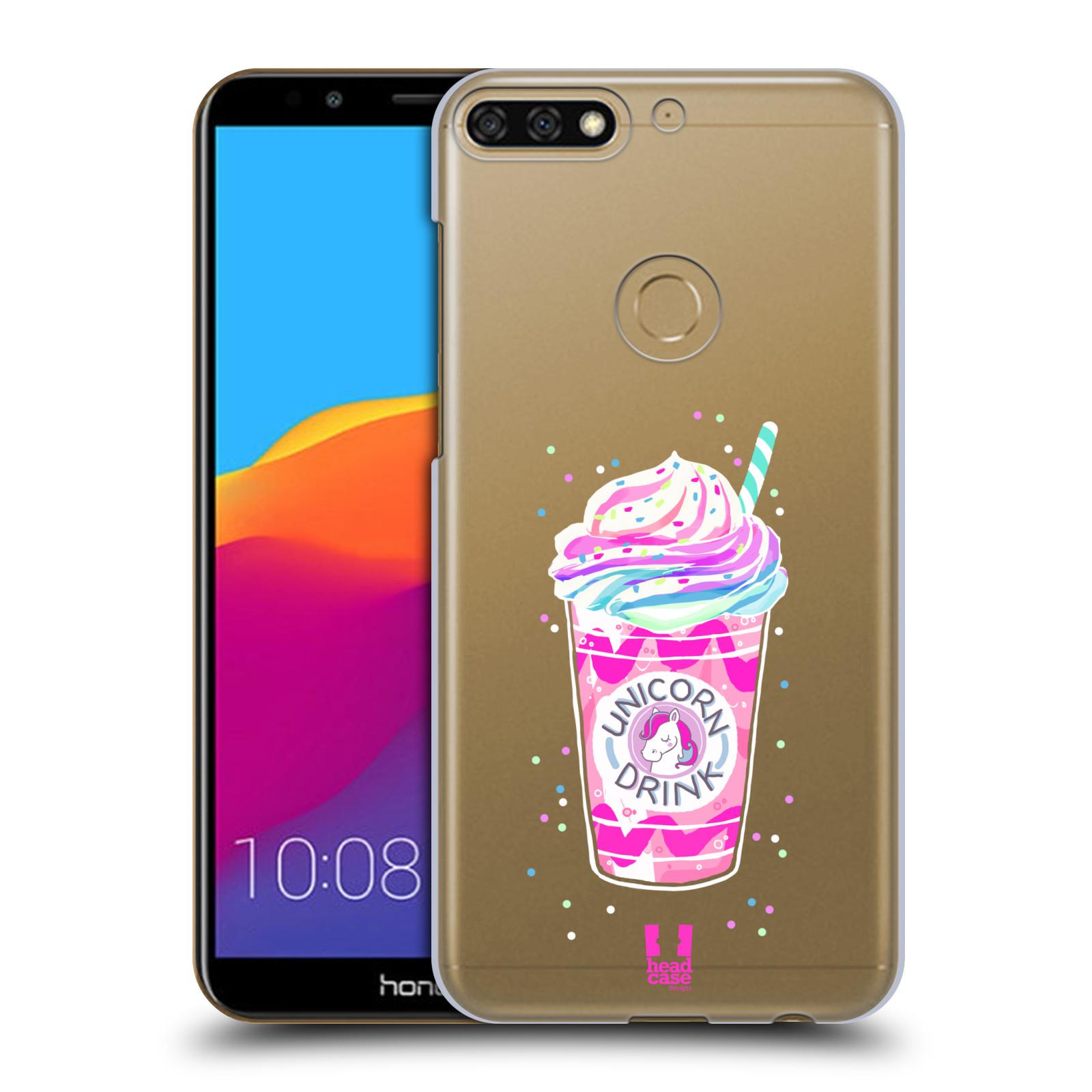Plastové pouzdro na mobil Huawei Y7 Prime 2018 - Head Case - Unicorn drink