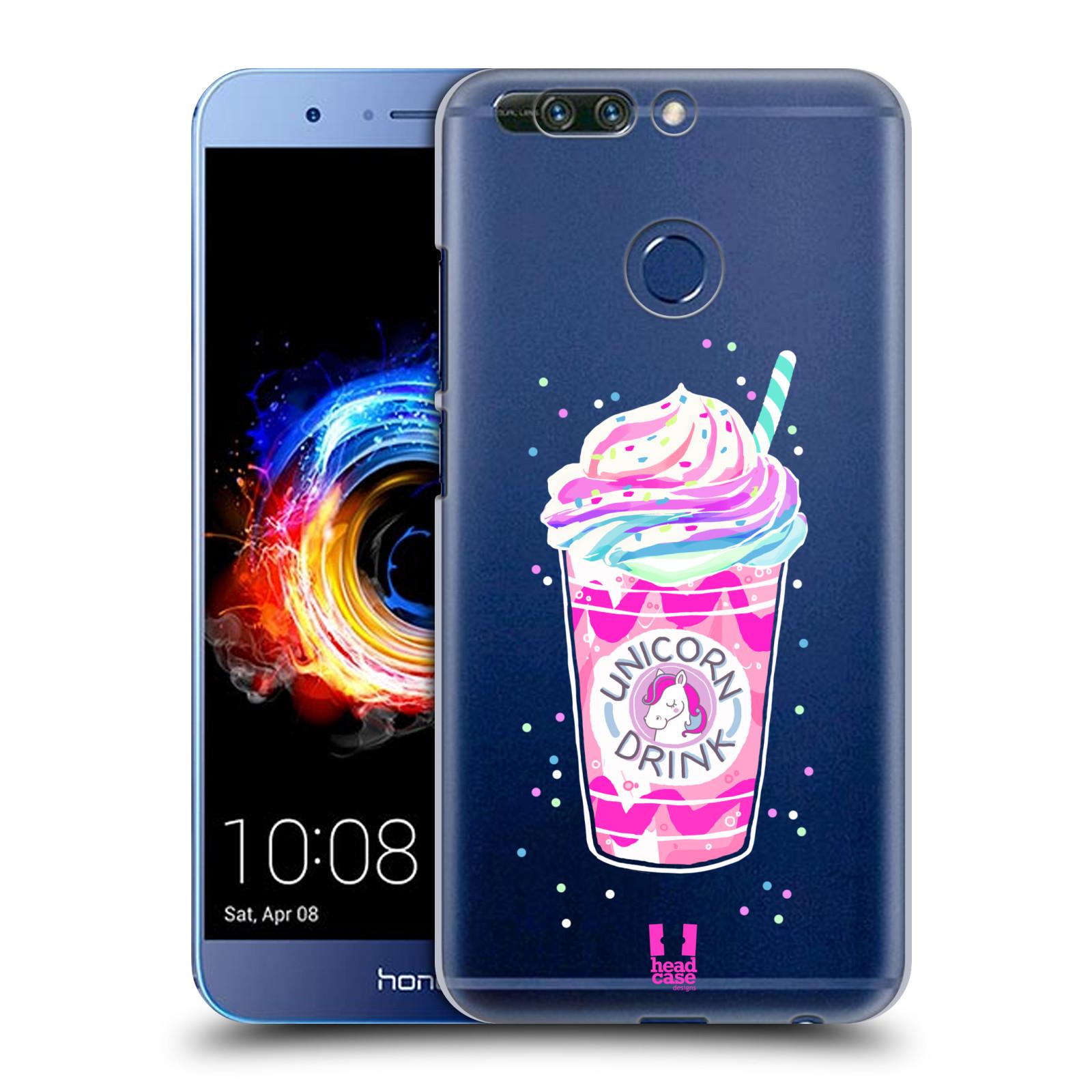 Plastové pouzdro na mobil Honor 8 Pro - Head Case - Unicorn drink