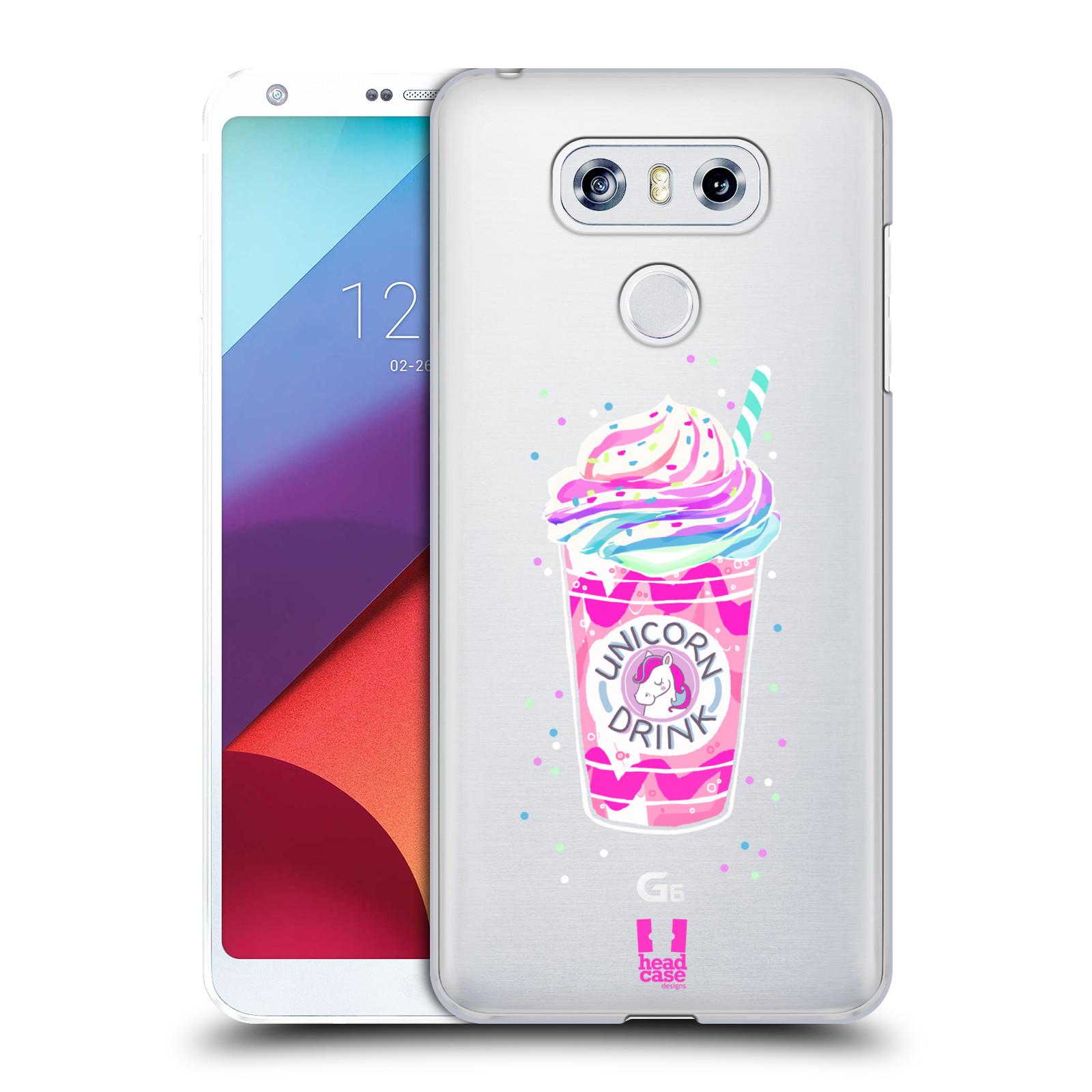 Plastové pouzdro na mobil LG G6 - Head Case - Unicorn drink