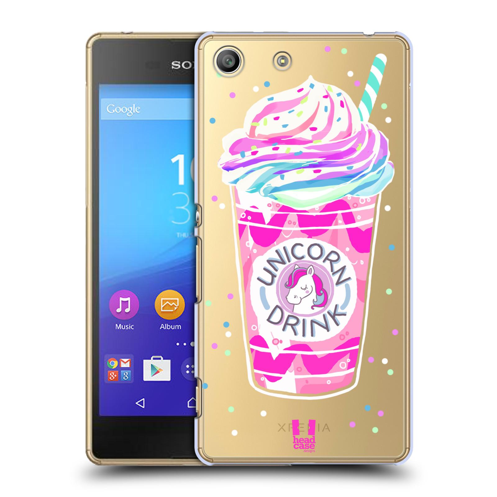 Plastové pouzdro na mobil Sony Xperia M5 - Head Case - Unicorn drink