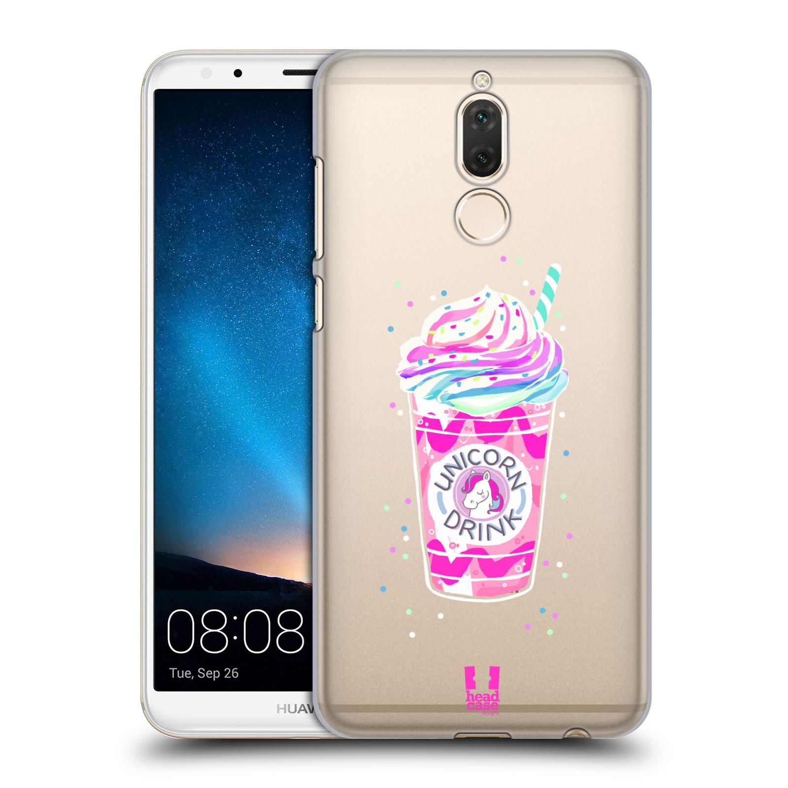 Plastové pouzdro na mobil Huawei Mate 10 Lite - Head Case - Unicorn drink