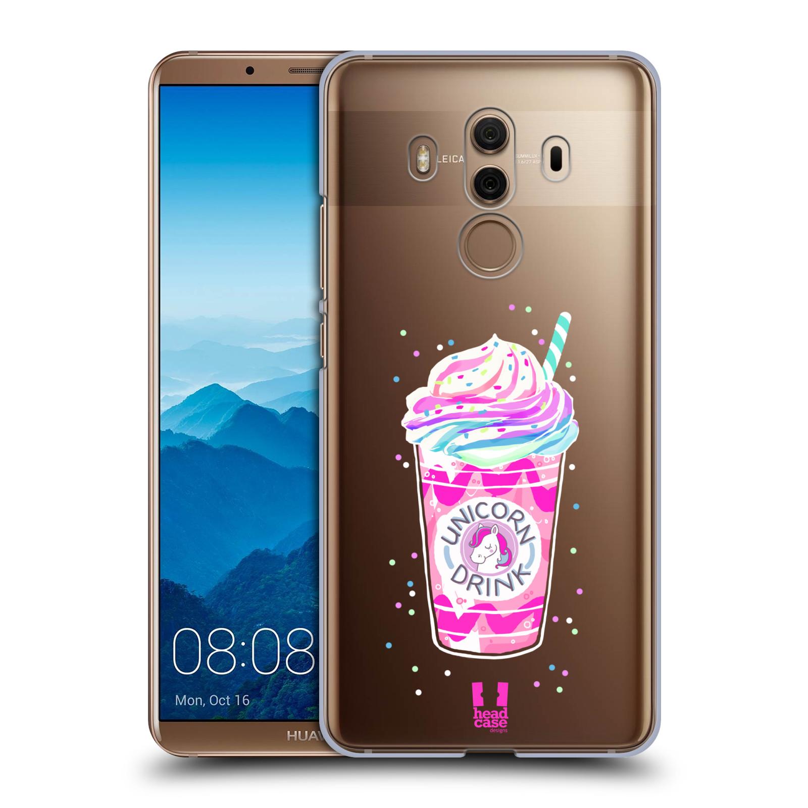 Plastové pouzdro na mobil Huawei Mate 10 Pro - Head Case - Unicorn drink