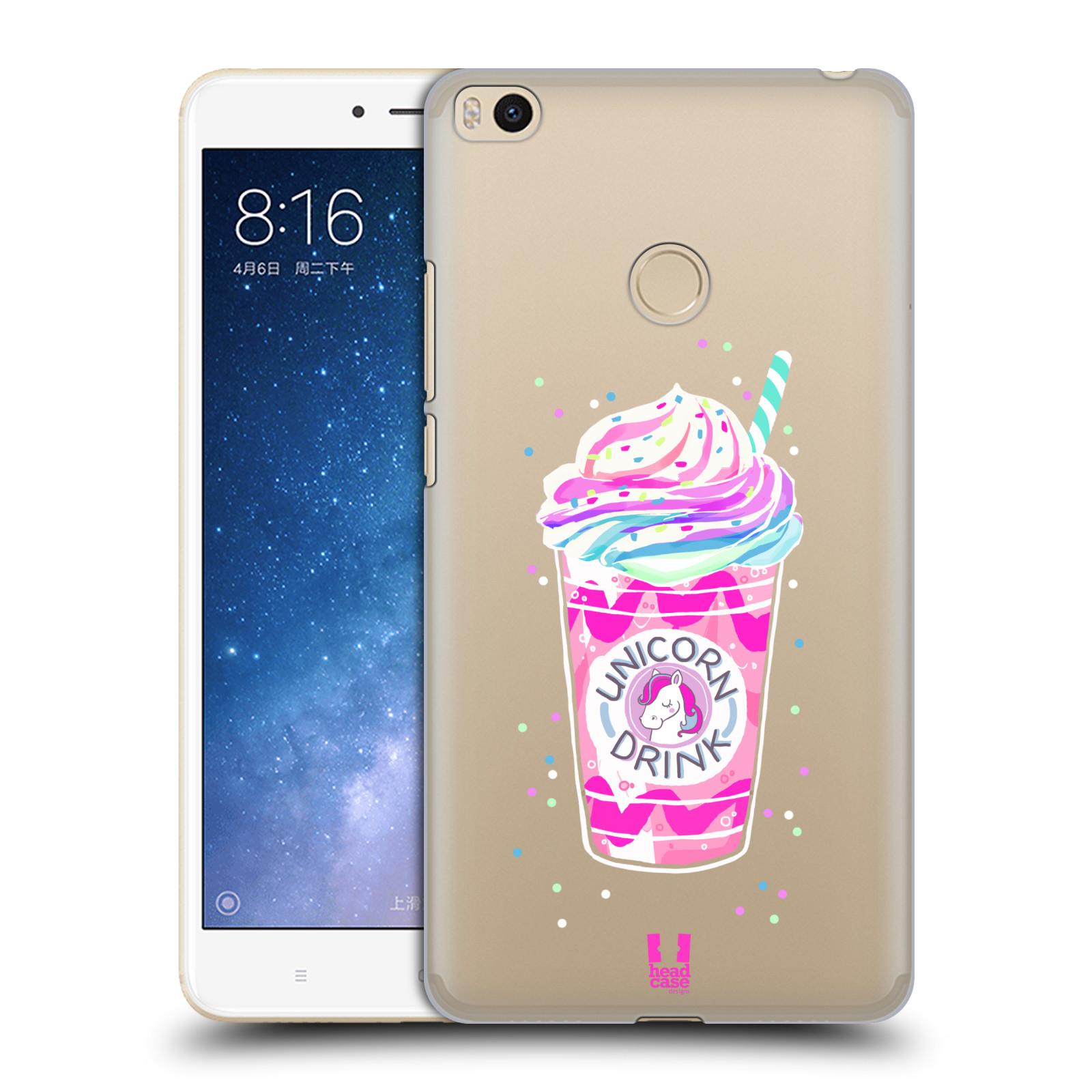 Plastové pouzdro na mobil Xiaomi Mi Max 2 - Head Case - Unicorn drink