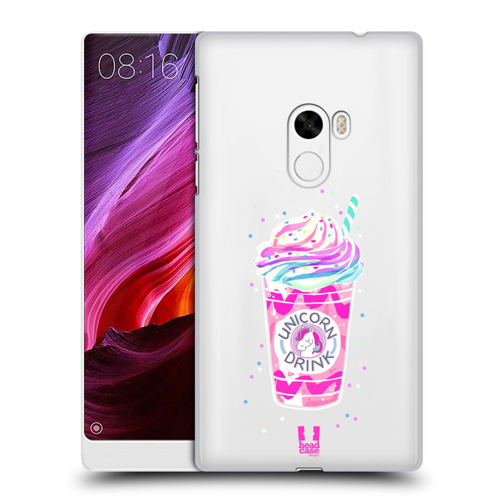 Plastové pouzdro na mobil Xiaomi Mi Mix - Head Case - Unicorn drink