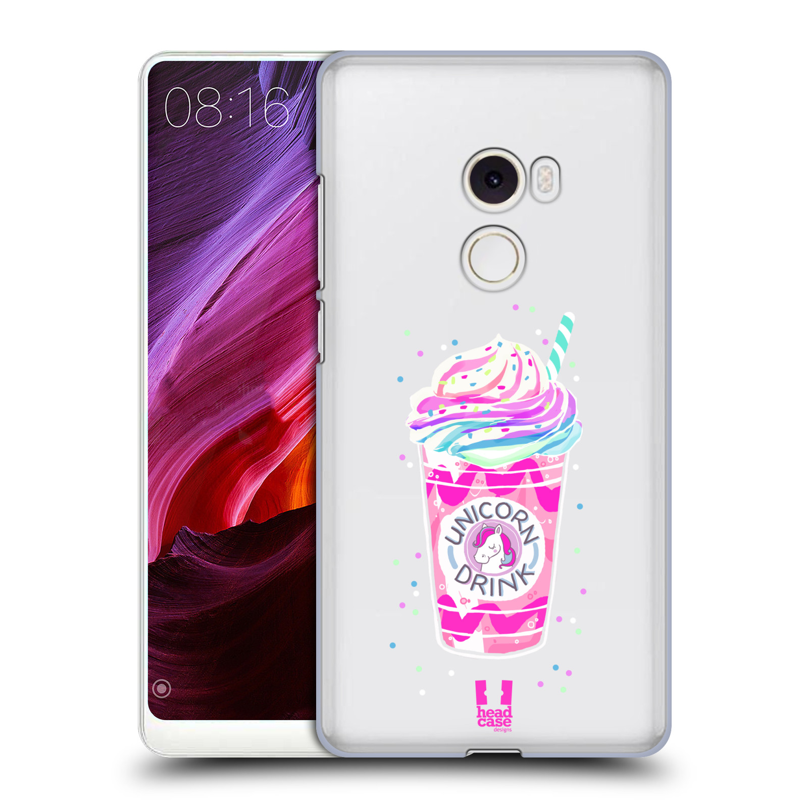 Plastové pouzdro na mobil Xiaomi Mi Mix 2 - Head Case - Unicorn drink