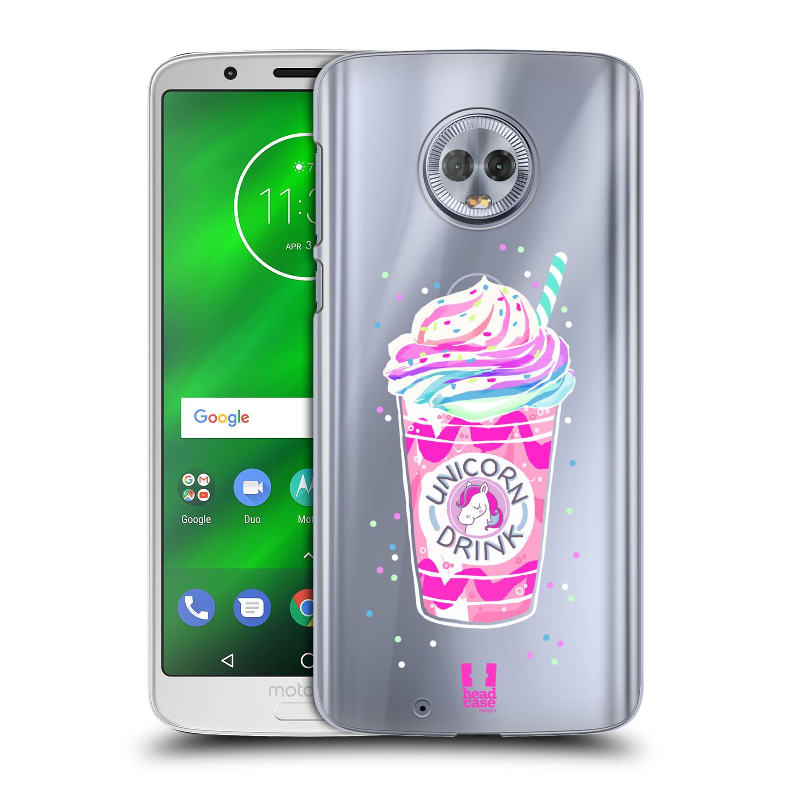 Plastové pouzdro na mobil Motorola Moto G6 - Head Case - Unicorn drink