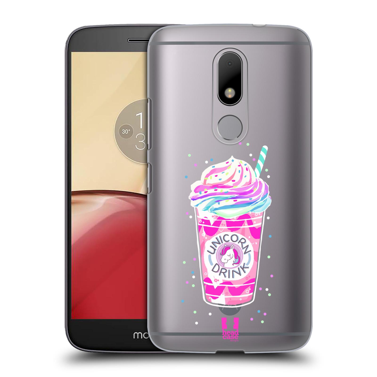 Plastové pouzdro na mobil Lenovo Moto M - Head Case - Unicorn drink