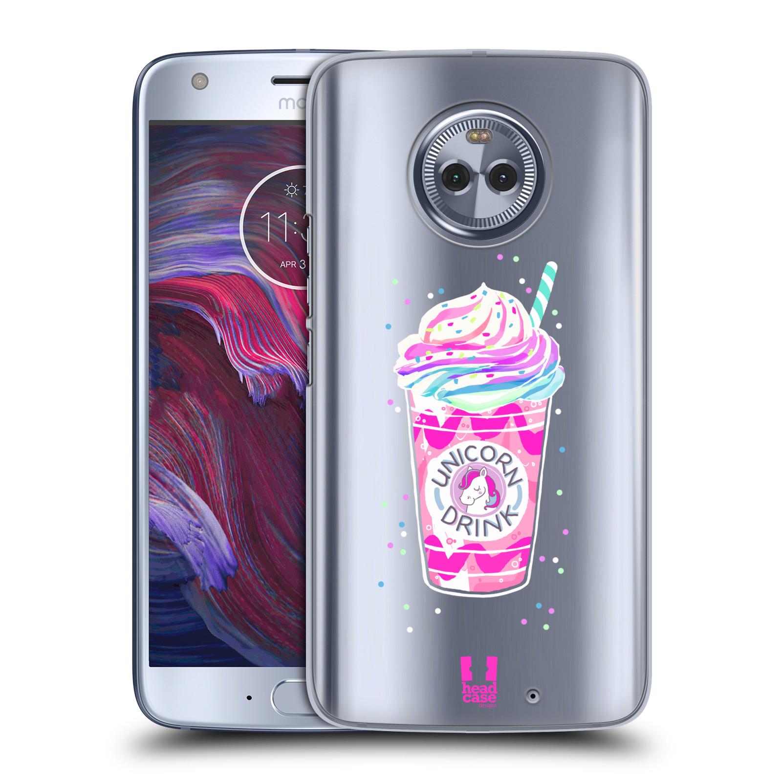 Plastové pouzdro na mobil Lenovo Moto X4 - Head Case - Unicorn drink