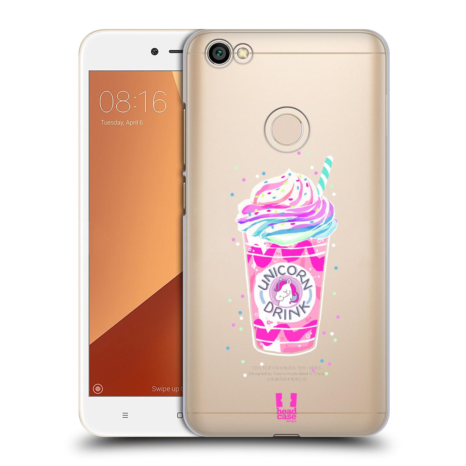 Plastové pouzdro na mobil Xiaomi Redmi Note 5A - Head Case - Unicorn drink