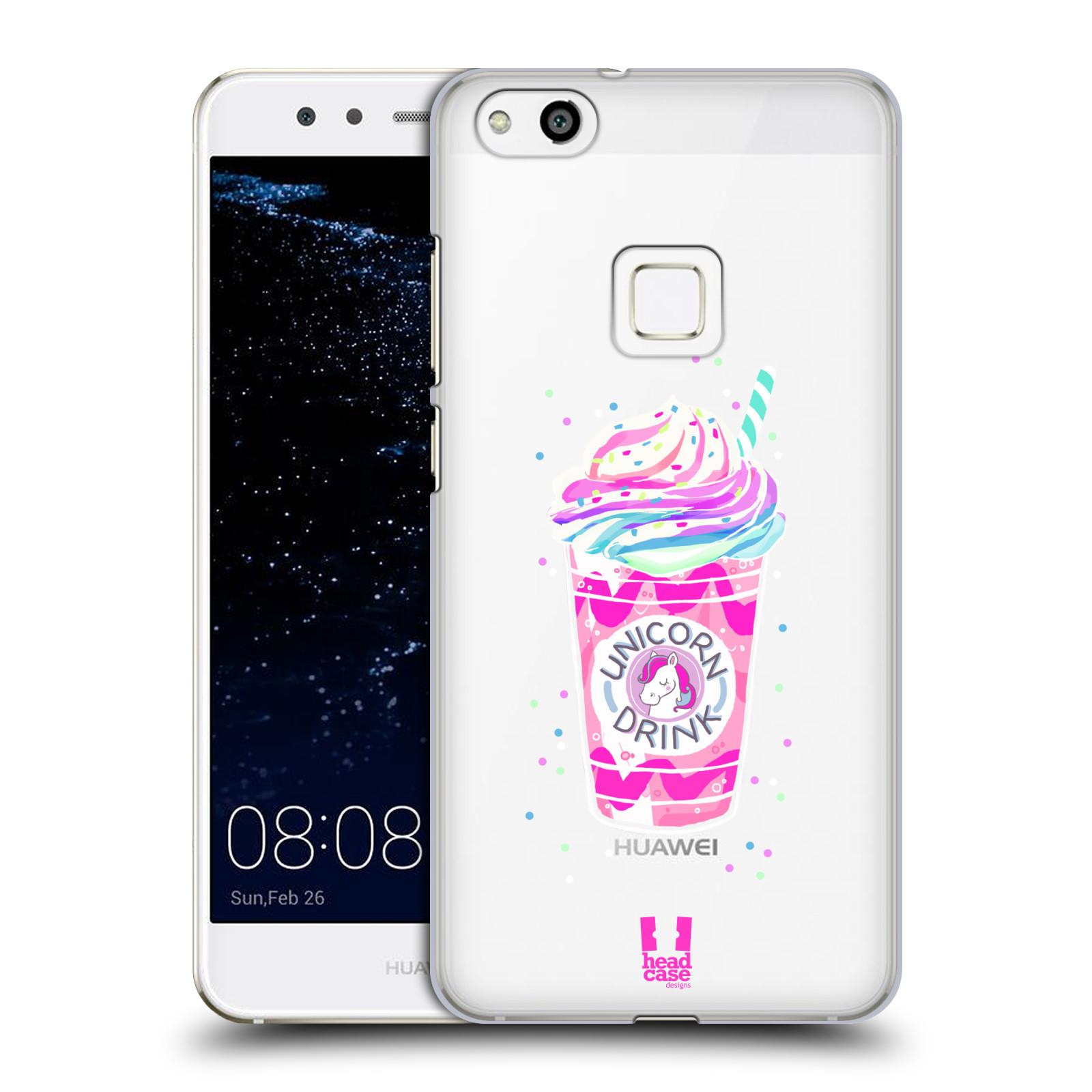 Plastové pouzdro na mobil Huawei P10 Lite Head Case - Unicorn drink