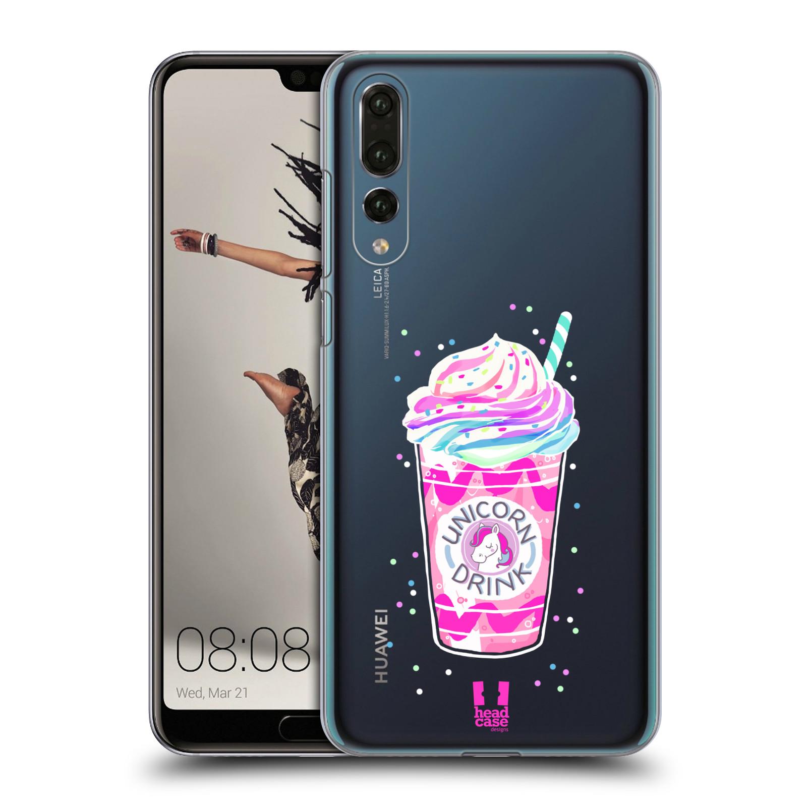 Plastové pouzdro na mobil Huawei P20 Pro - Head Case - Unicorn drink