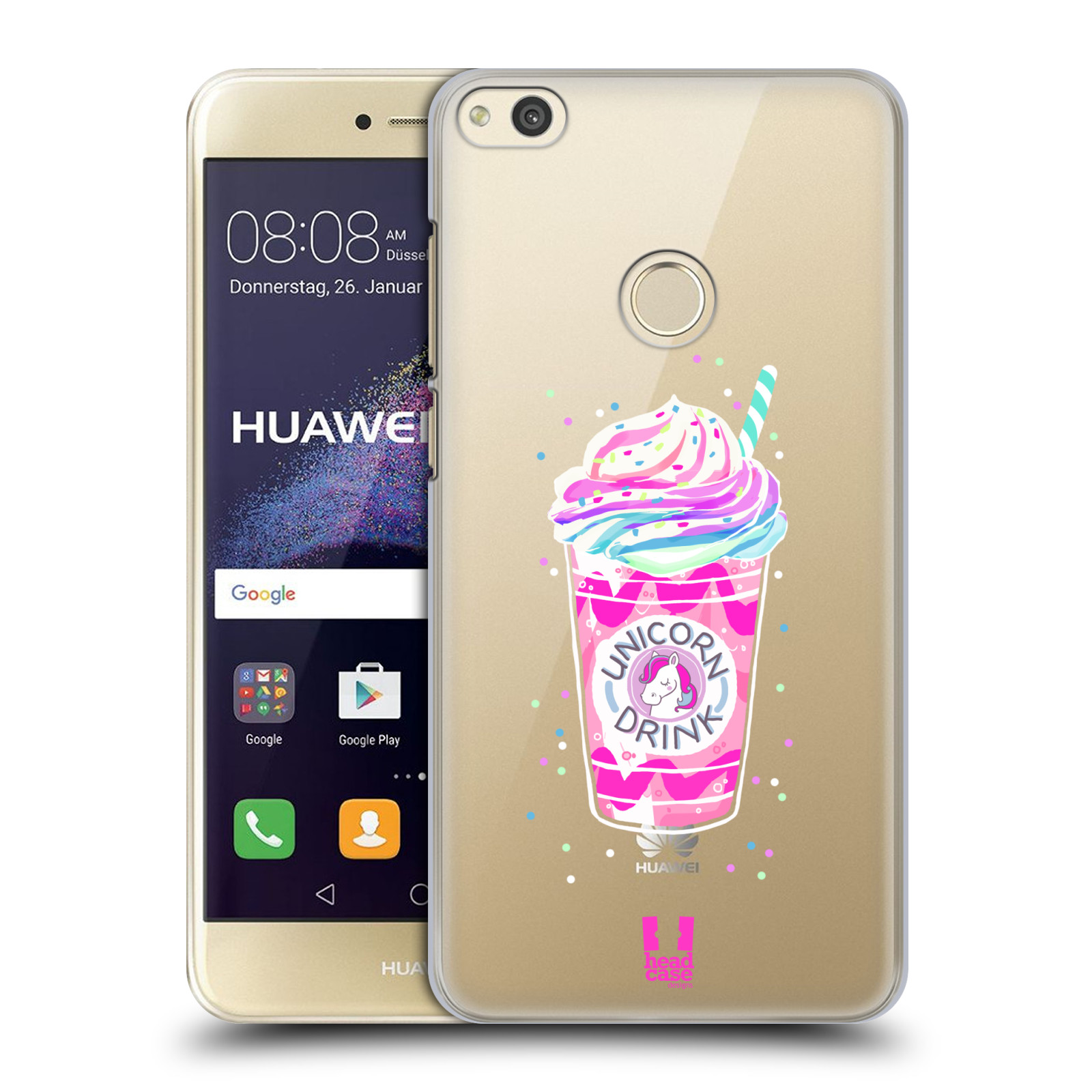 Plastové pouzdro na mobil Huawei P9 Lite (2017) - Head Case - Unicorn drink
