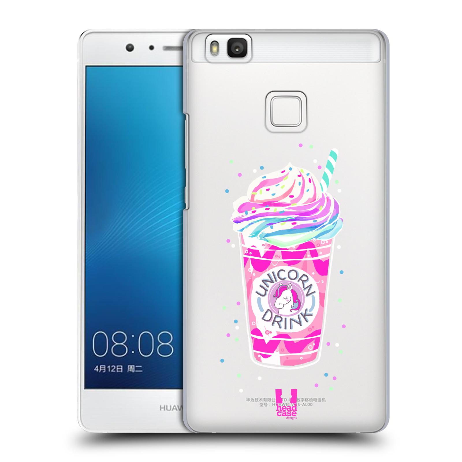 Plastové pouzdro na mobil Huawei P9 Lite - Head Case - Unicorn drink